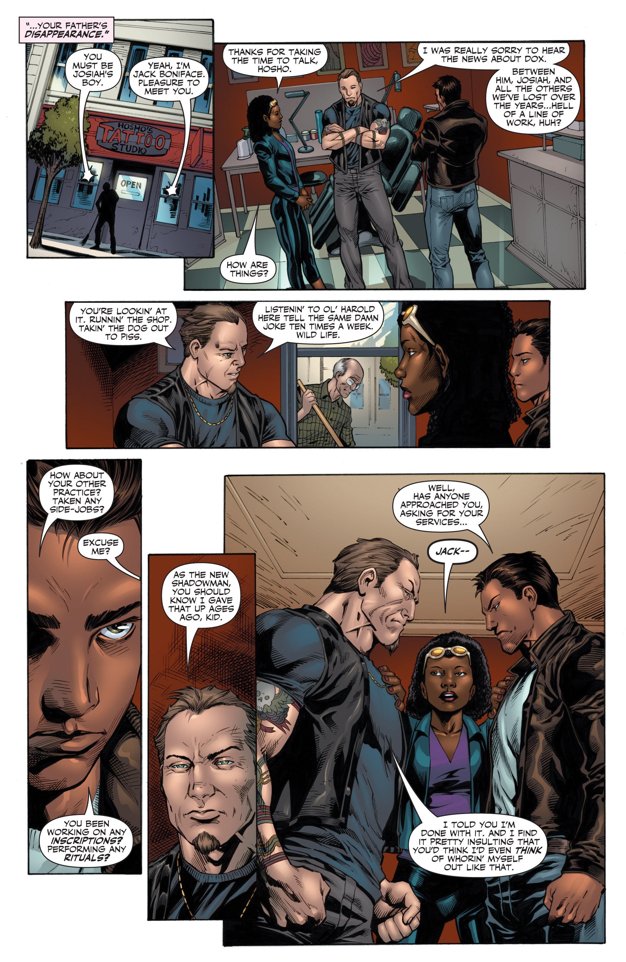 Read online Shadowman (2012) comic -  Issue #12 - 21