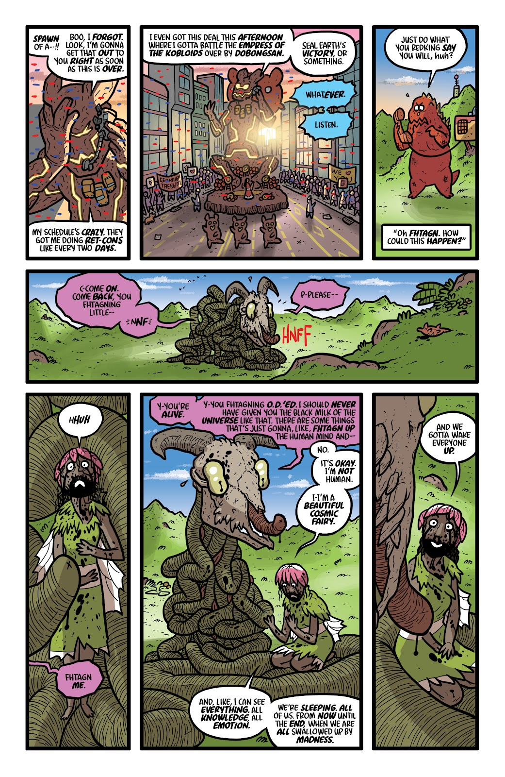 Read online Kaijumax: Season Four comic -  Issue #4 - 8