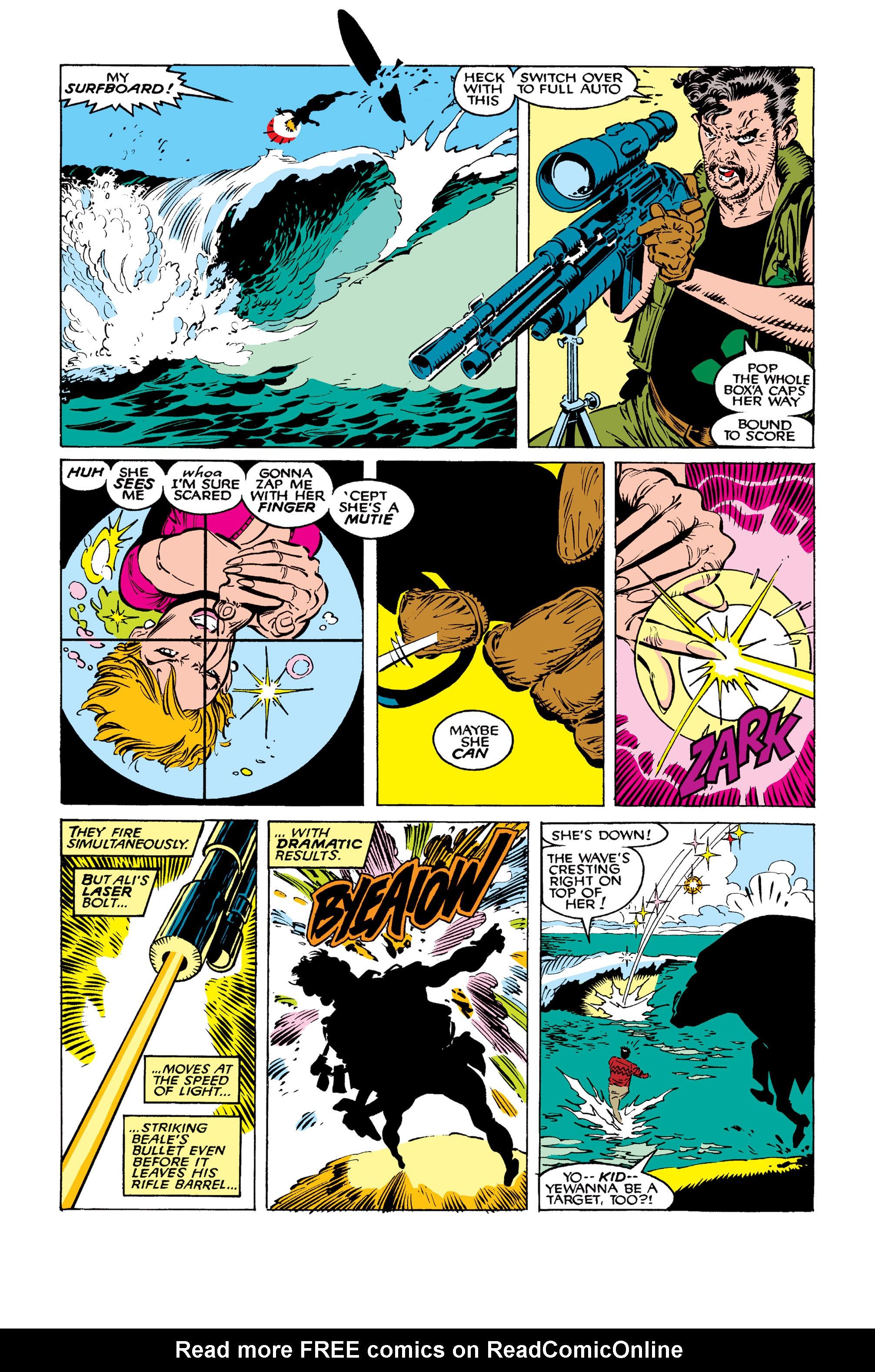 Read online Uncanny X-Men (1963) comic -  Issue #260 - 8