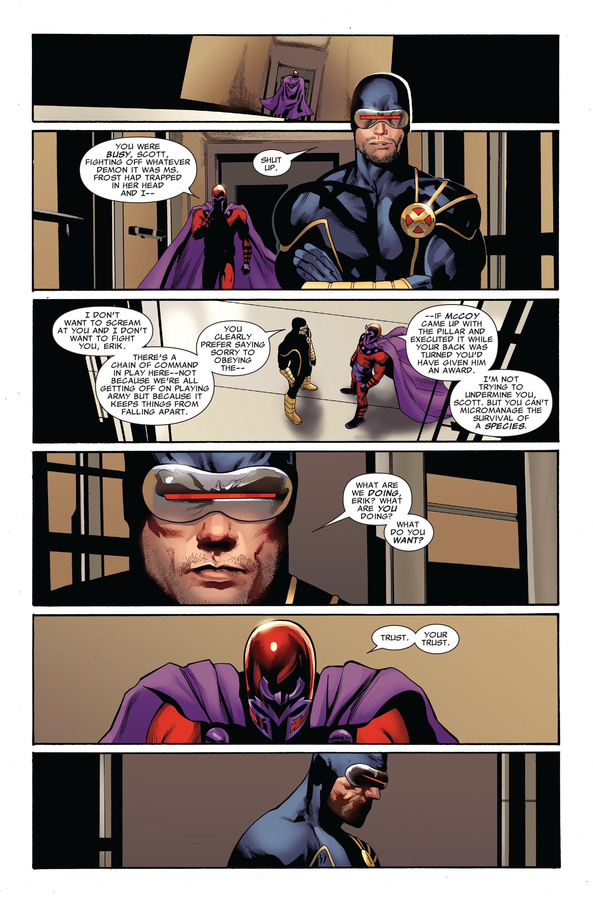 Read online Uncanny X-Men (1963) comic -  Issue #520 - 14