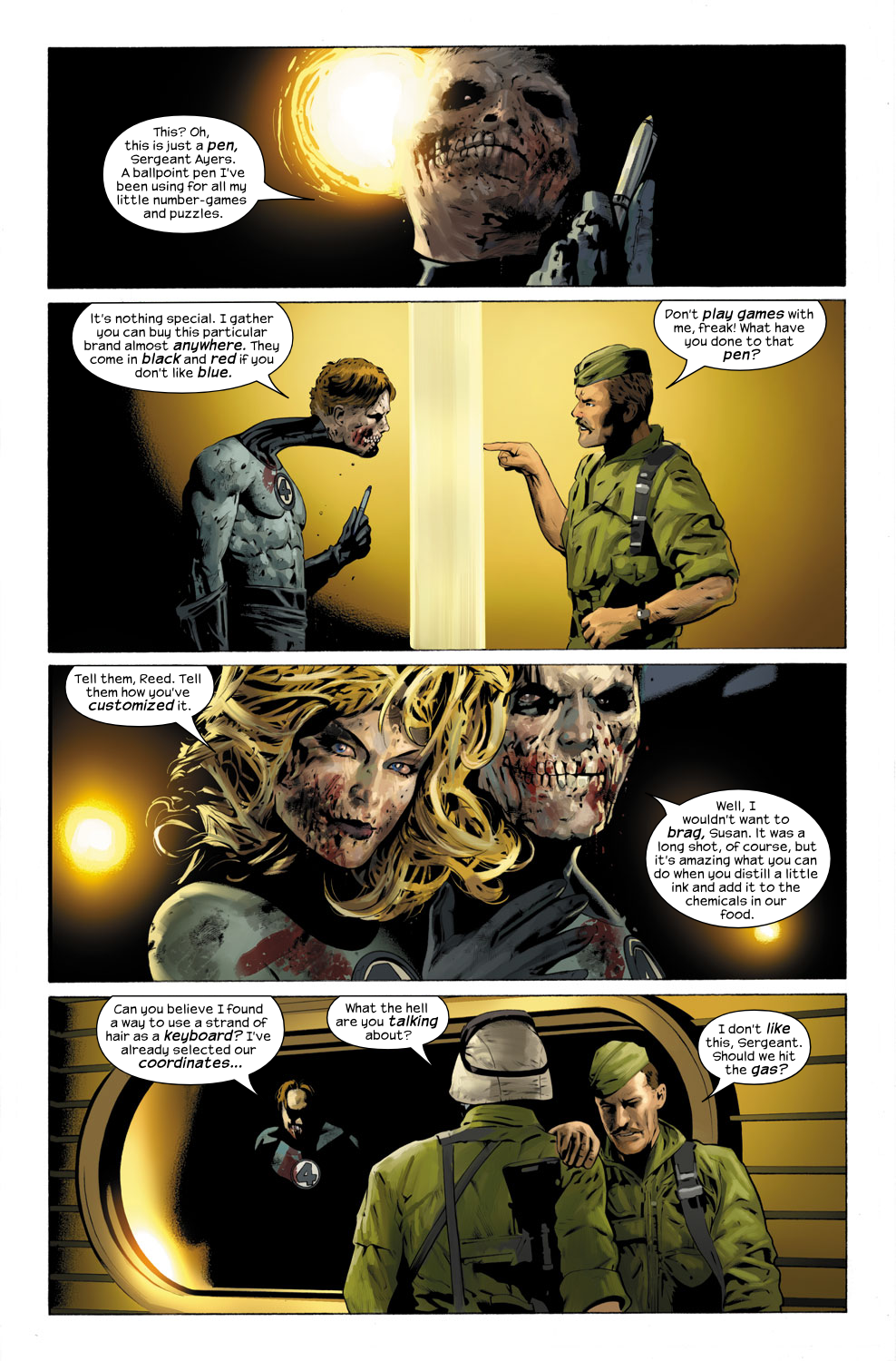Read online Ultimate Fantastic Four (2004) comic -  Issue #31 - 4