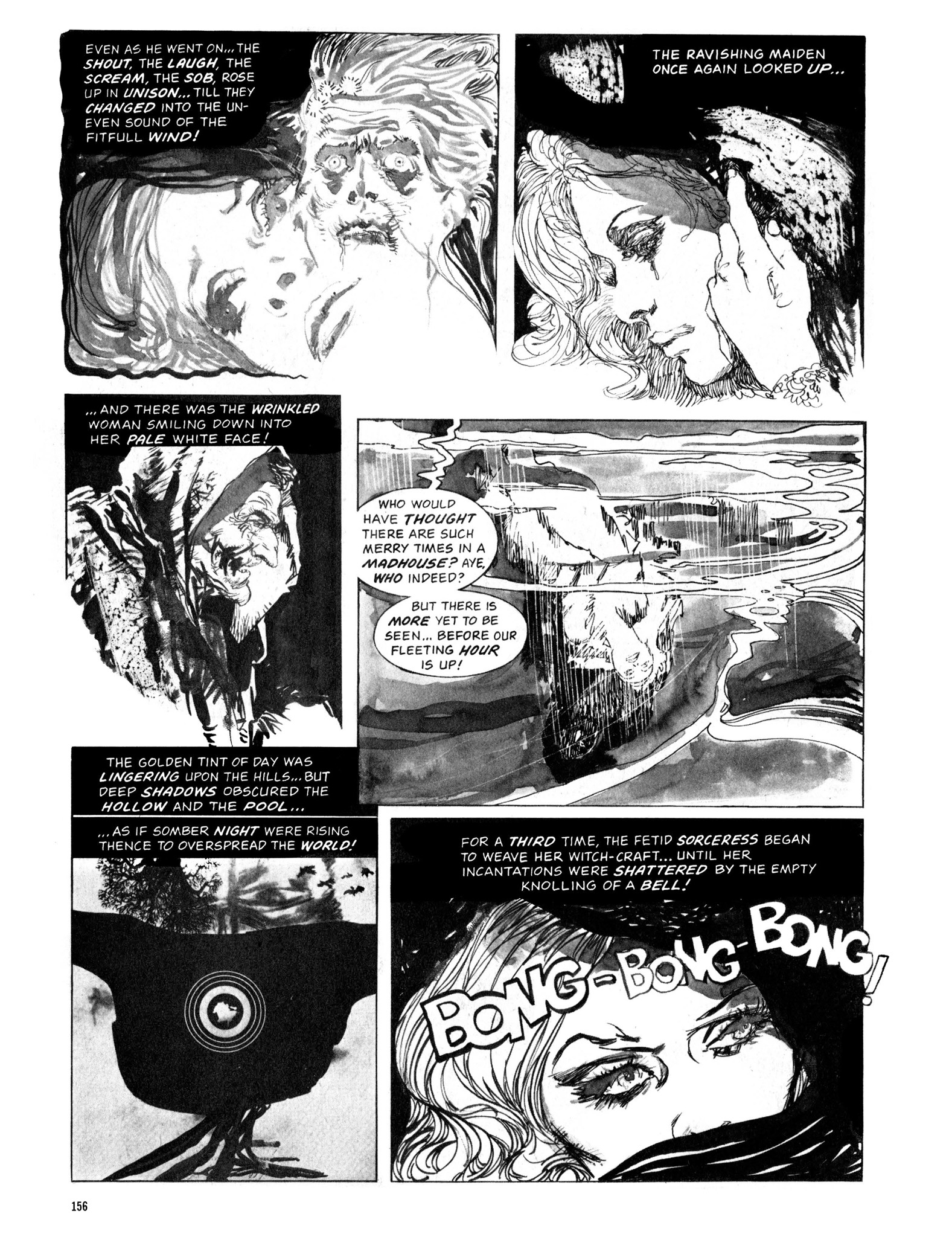 Read online Eerie Archives comic -  Issue # TPB 13 - 157
