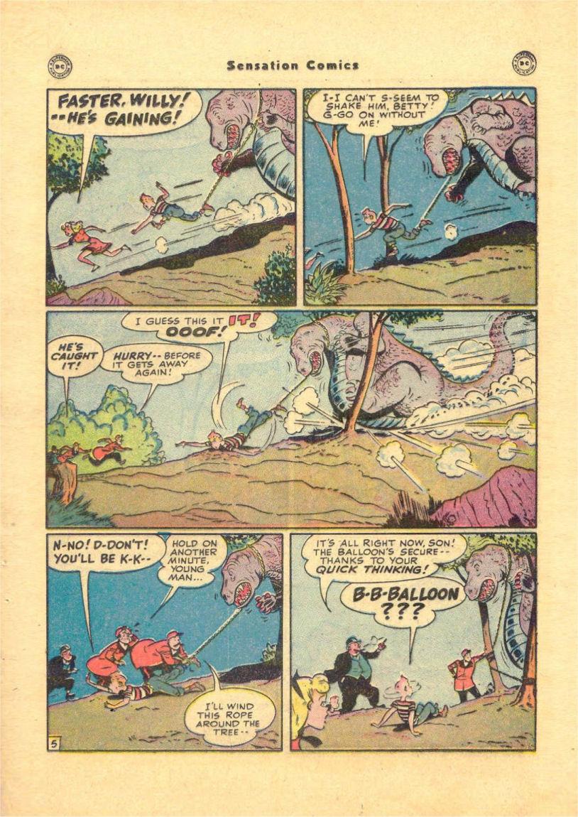 Read online Sensation (Mystery) Comics comic -  Issue #84 - 37