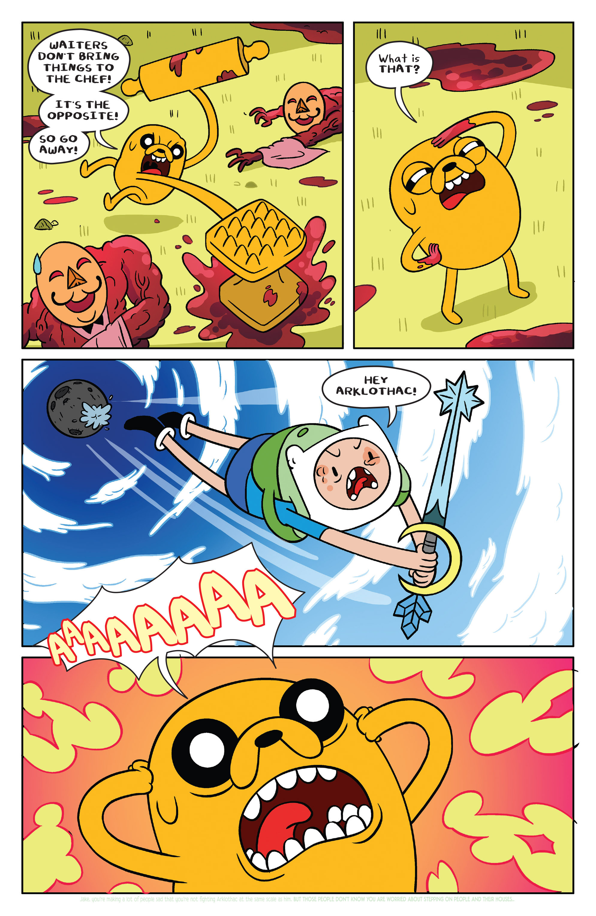 Read online Adventure Time comic -  Issue #39 - 15