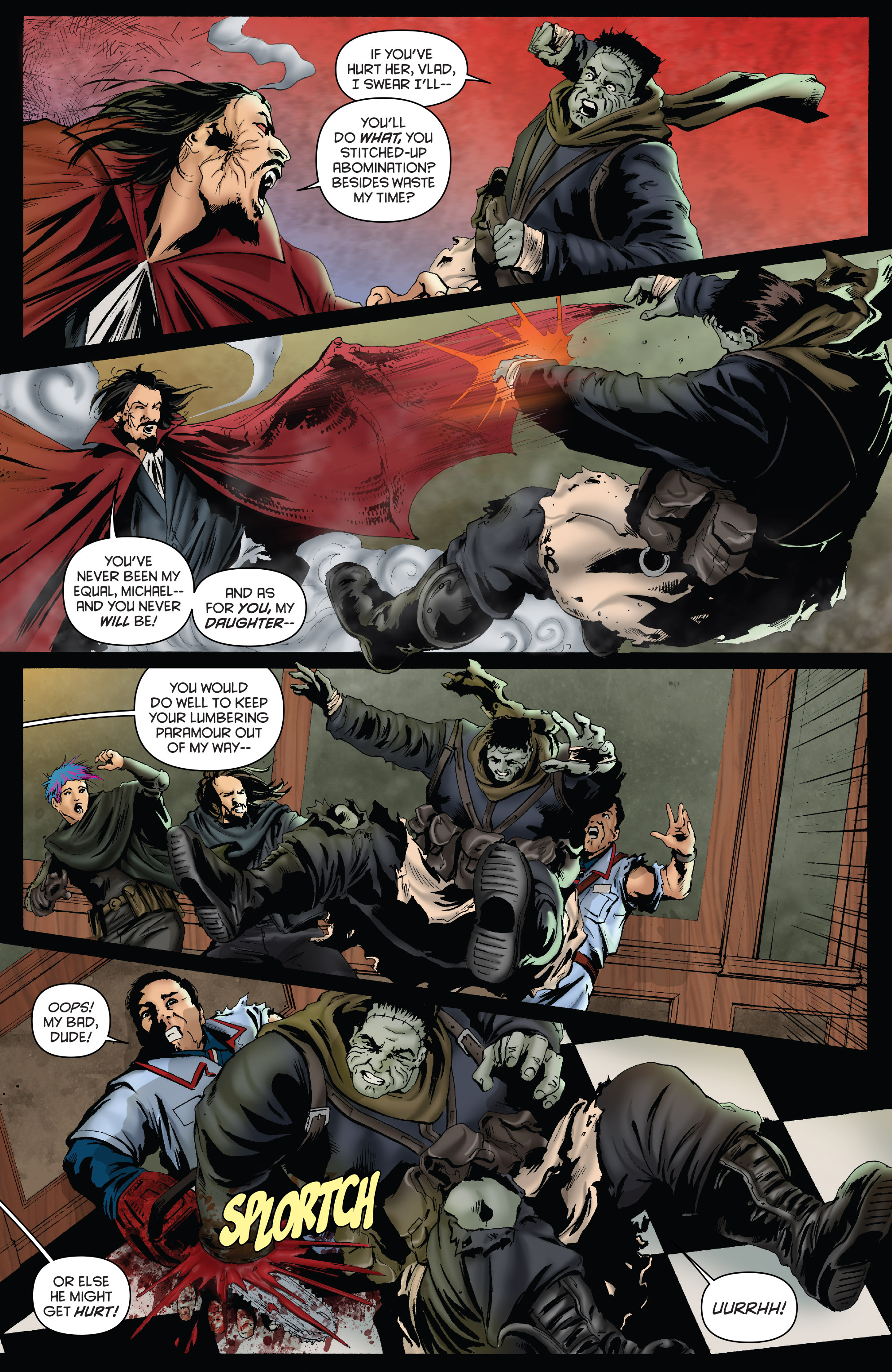 Read online Army of Darkness: Furious Road comic -  Issue #3 - 9