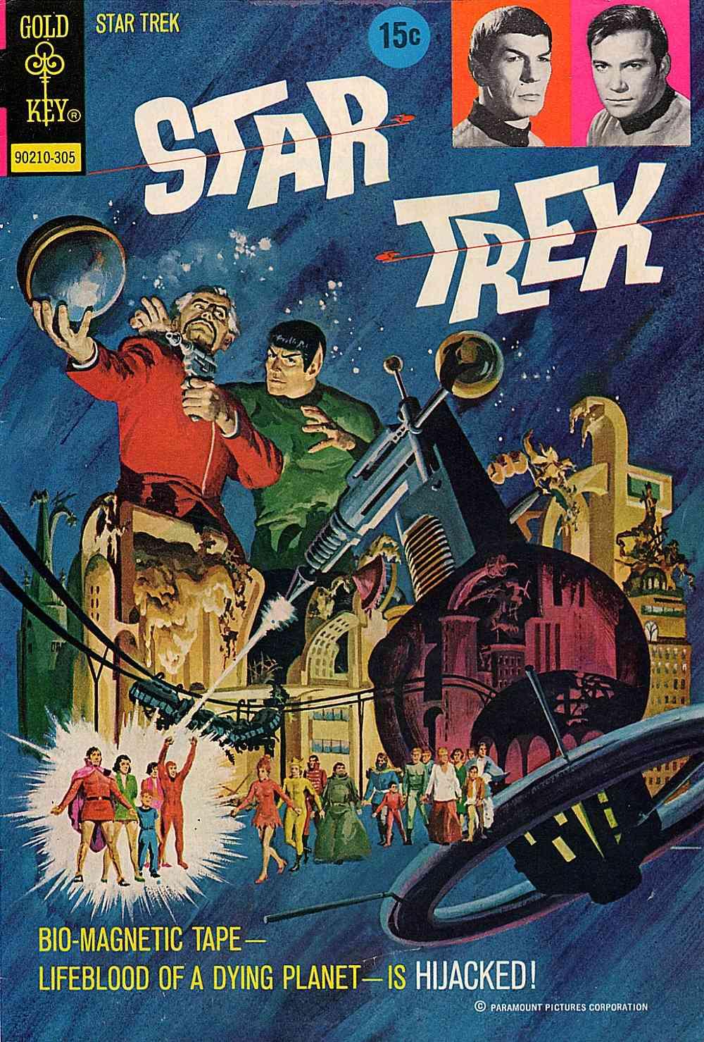 Star Trek (1967) issue 18 - Page 1