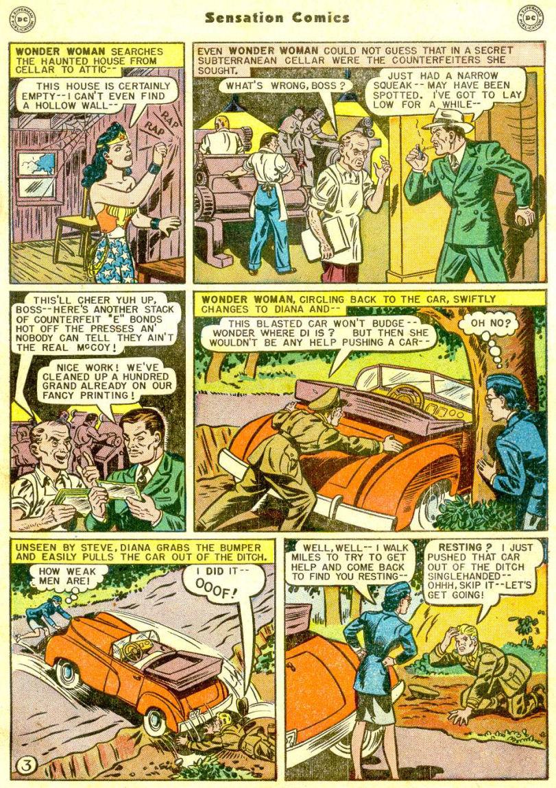 Read online Sensation (Mystery) Comics comic -  Issue #77 - 5