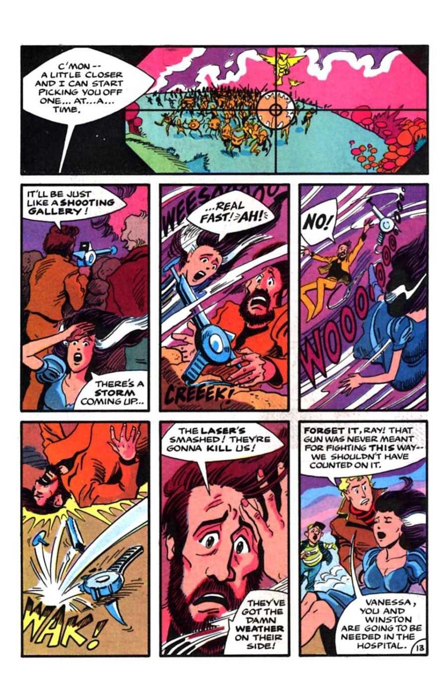 Read online Mars comic -  Issue #9 - 15