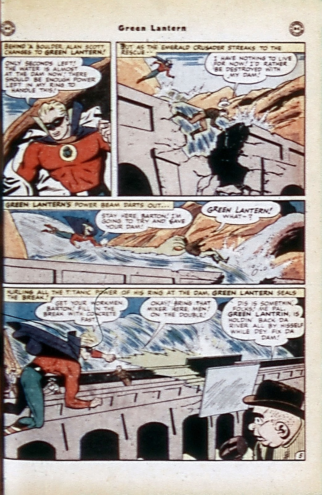 Green Lantern (1941) Issue #32 #32 - English 40