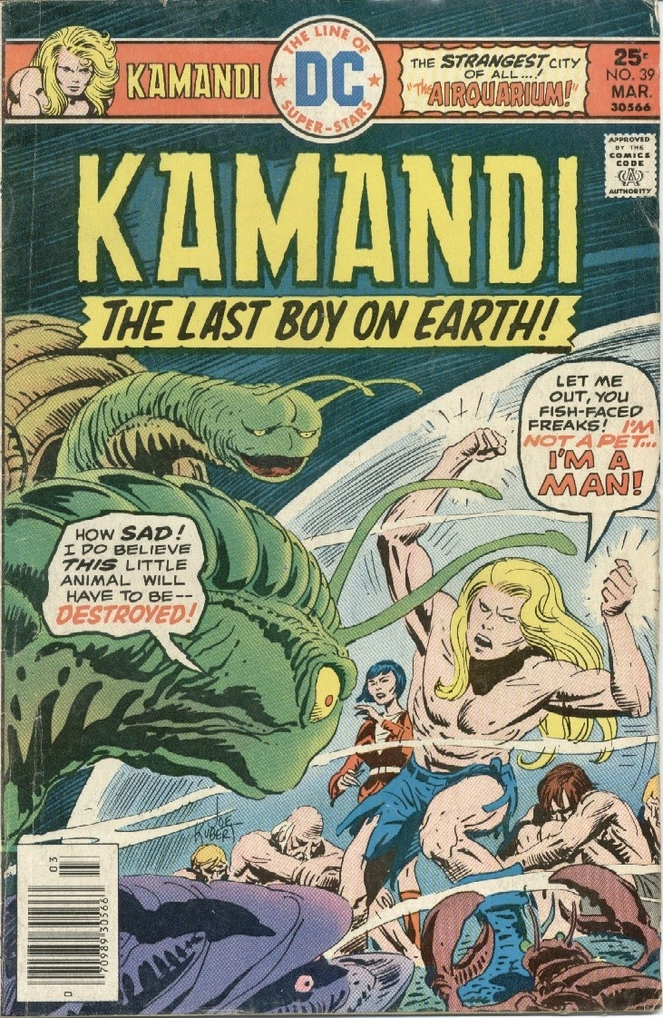 Kamandi, The Last Boy On Earth issue 39 - Page 1