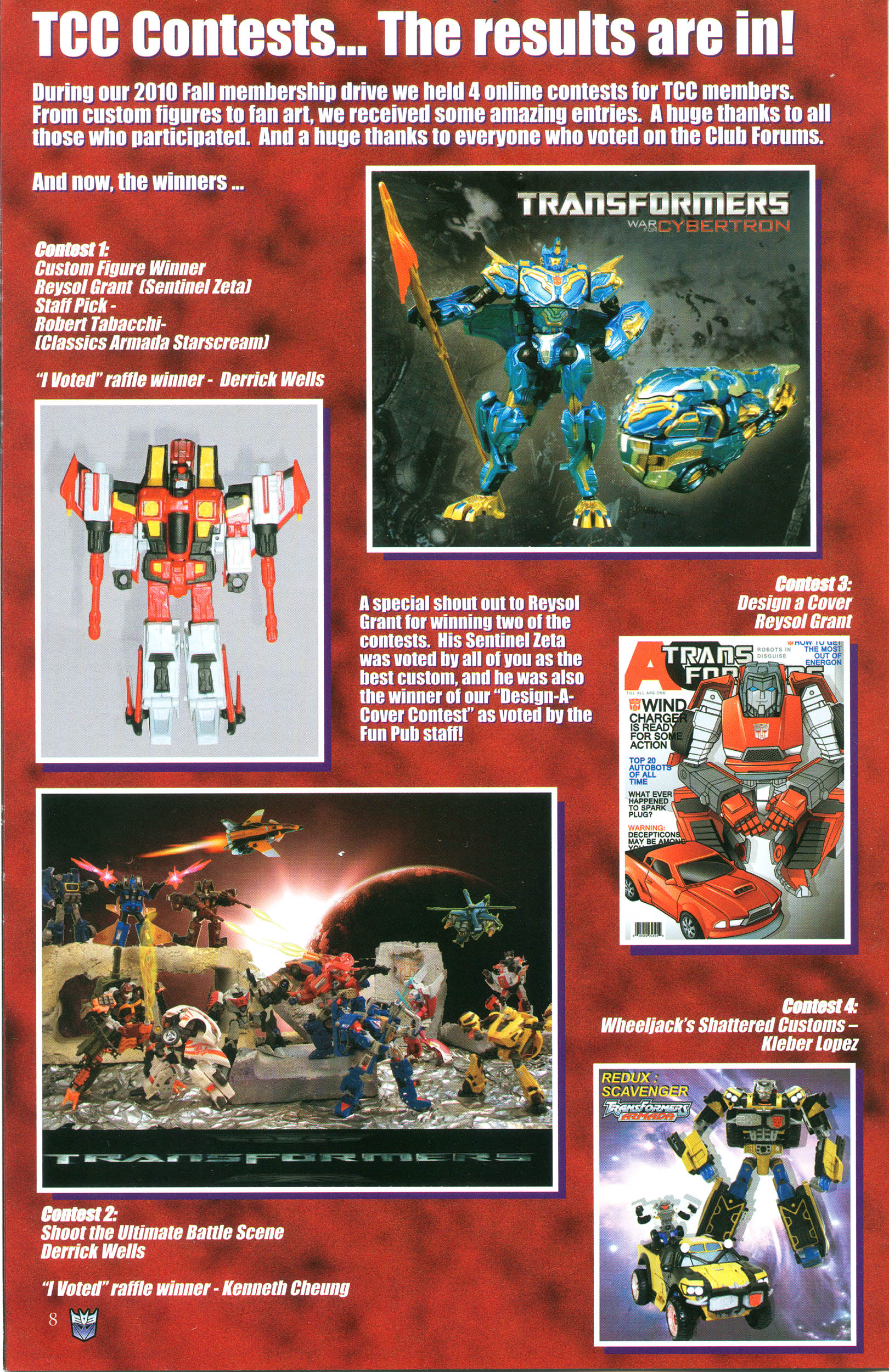 Read online Transformers: Collectors' Club comic -  Issue #37 - 8