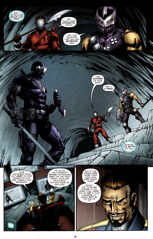 Read online G.I. Joe: Snake Eyes comic -  Issue #3 - 21