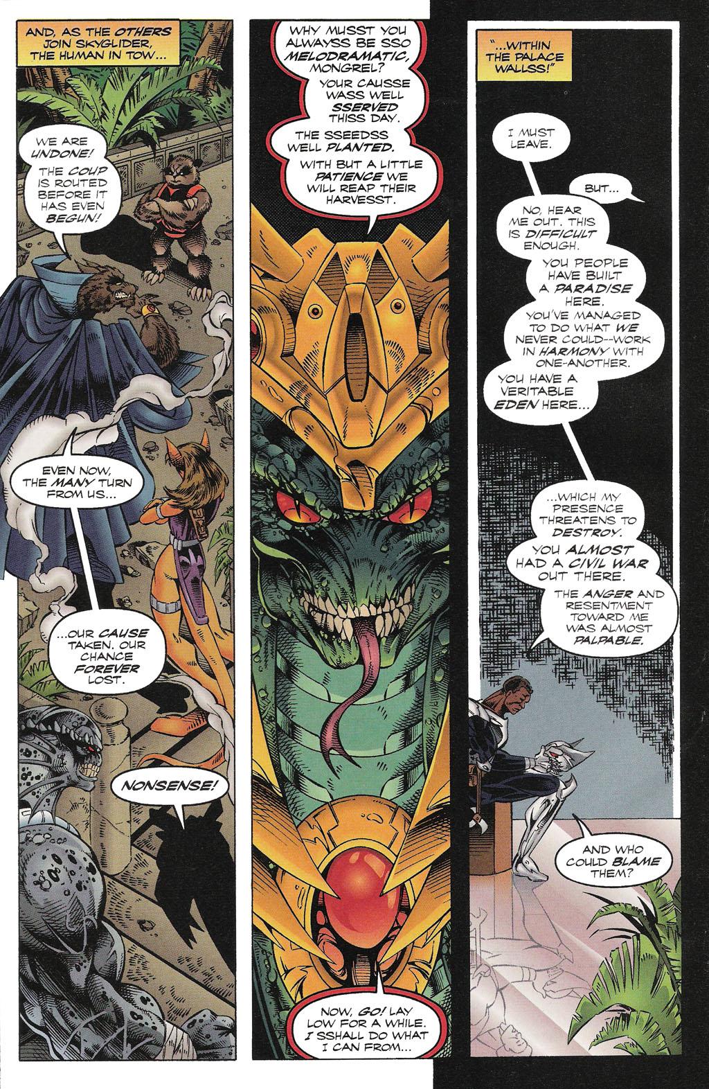 Read online ShadowHawk comic -  Issue #15 - 23