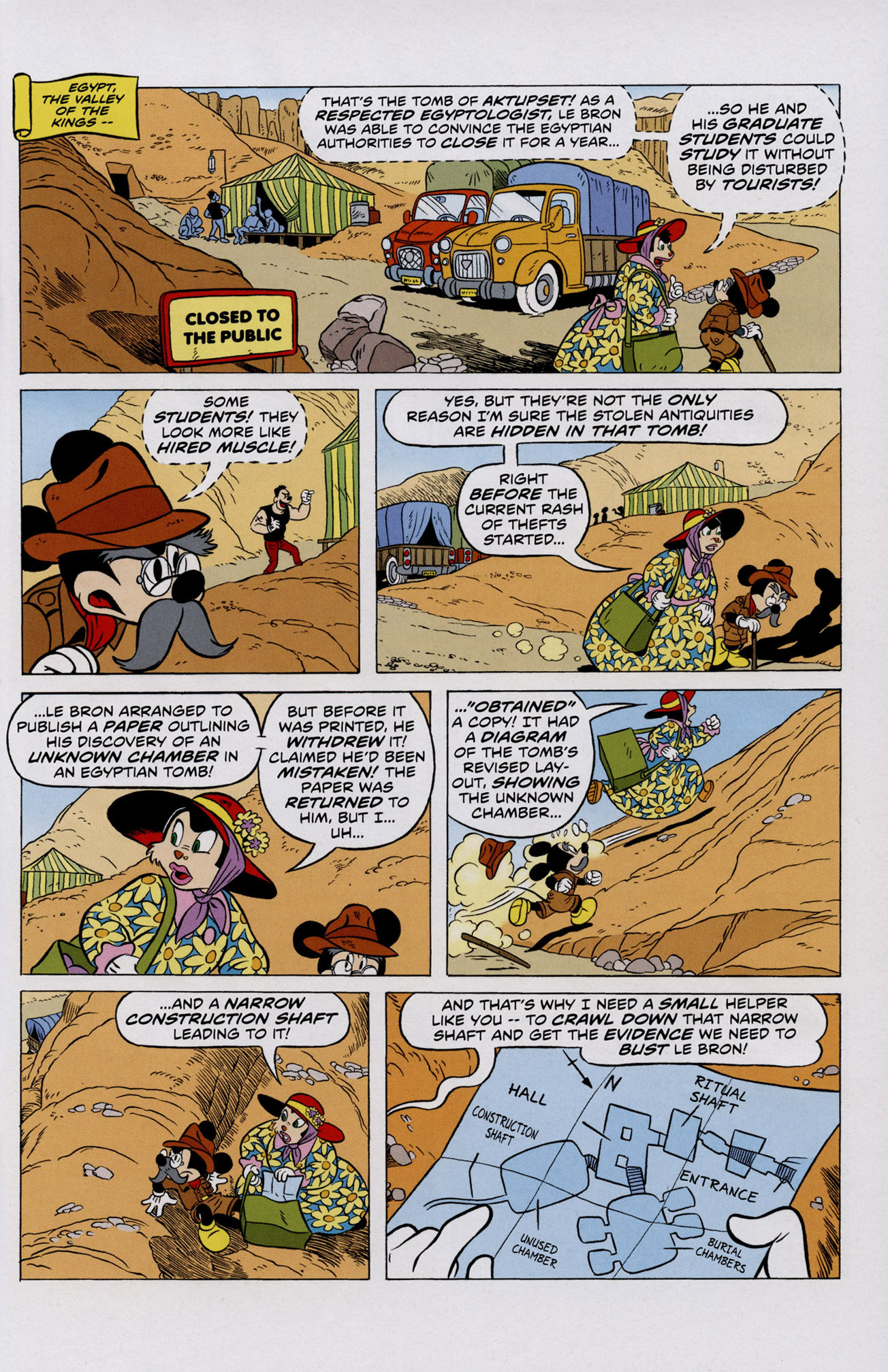Read online Mickey Mouse (2011) comic -  Issue #306 - 7