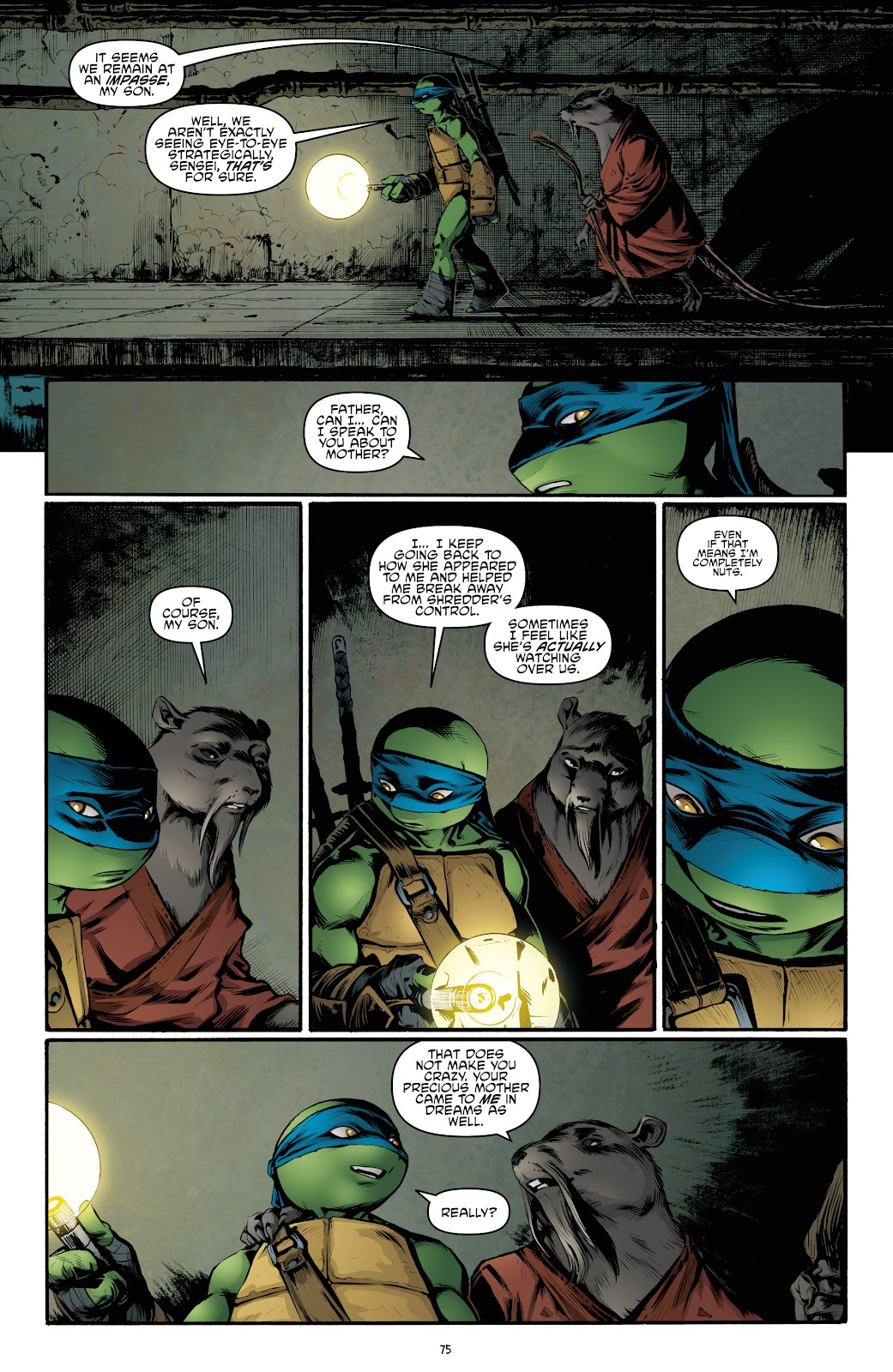 Read online Teenage Mutant Ninja Turtles: The IDW Collection comic -  Issue # TPB 4 (Part 3) - 82
