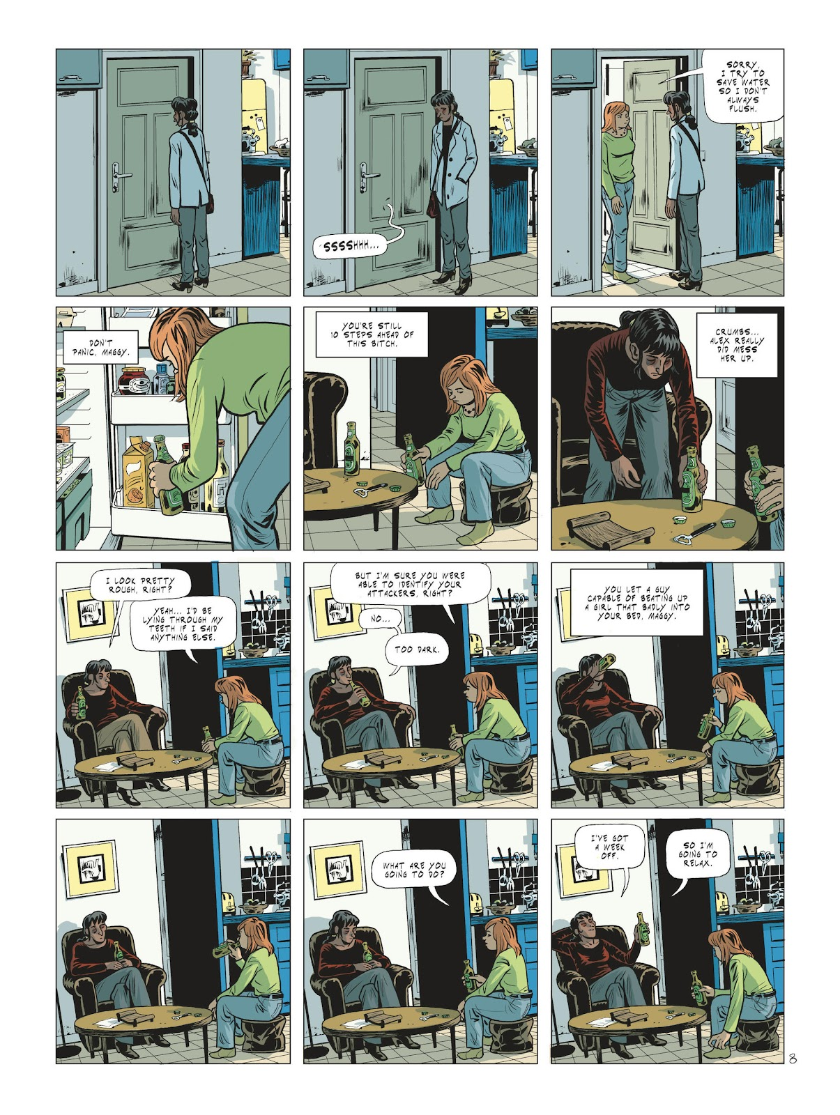 Read online Maggy Garrisson comic -  Issue #2 - 10