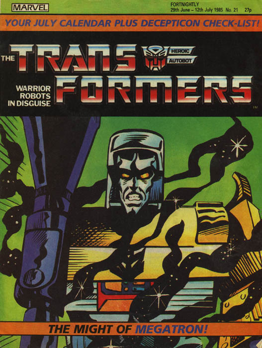 The Transformers (UK) 21 Page 1