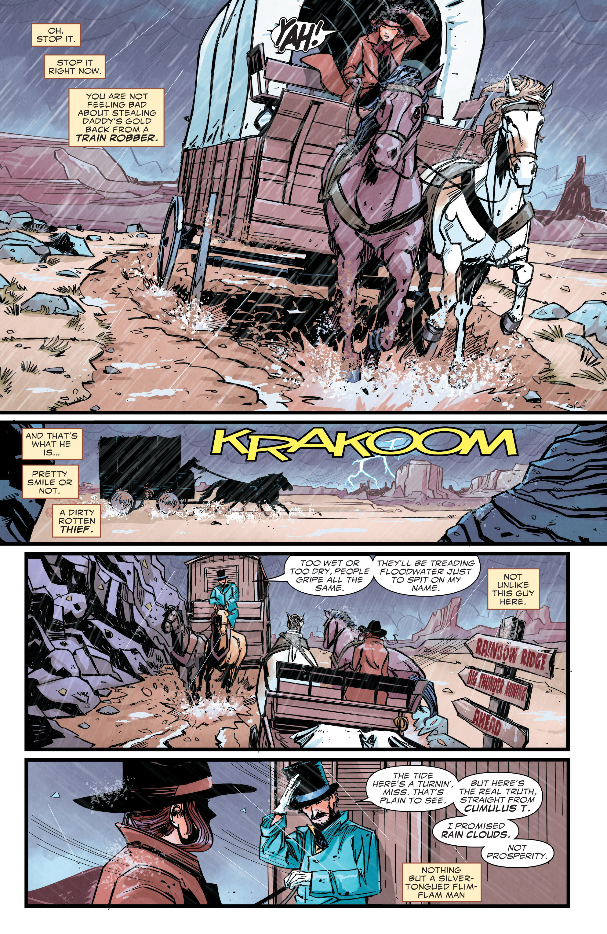 Read online Big Thunder Mountain Railroad comic -  Issue #3 - 10