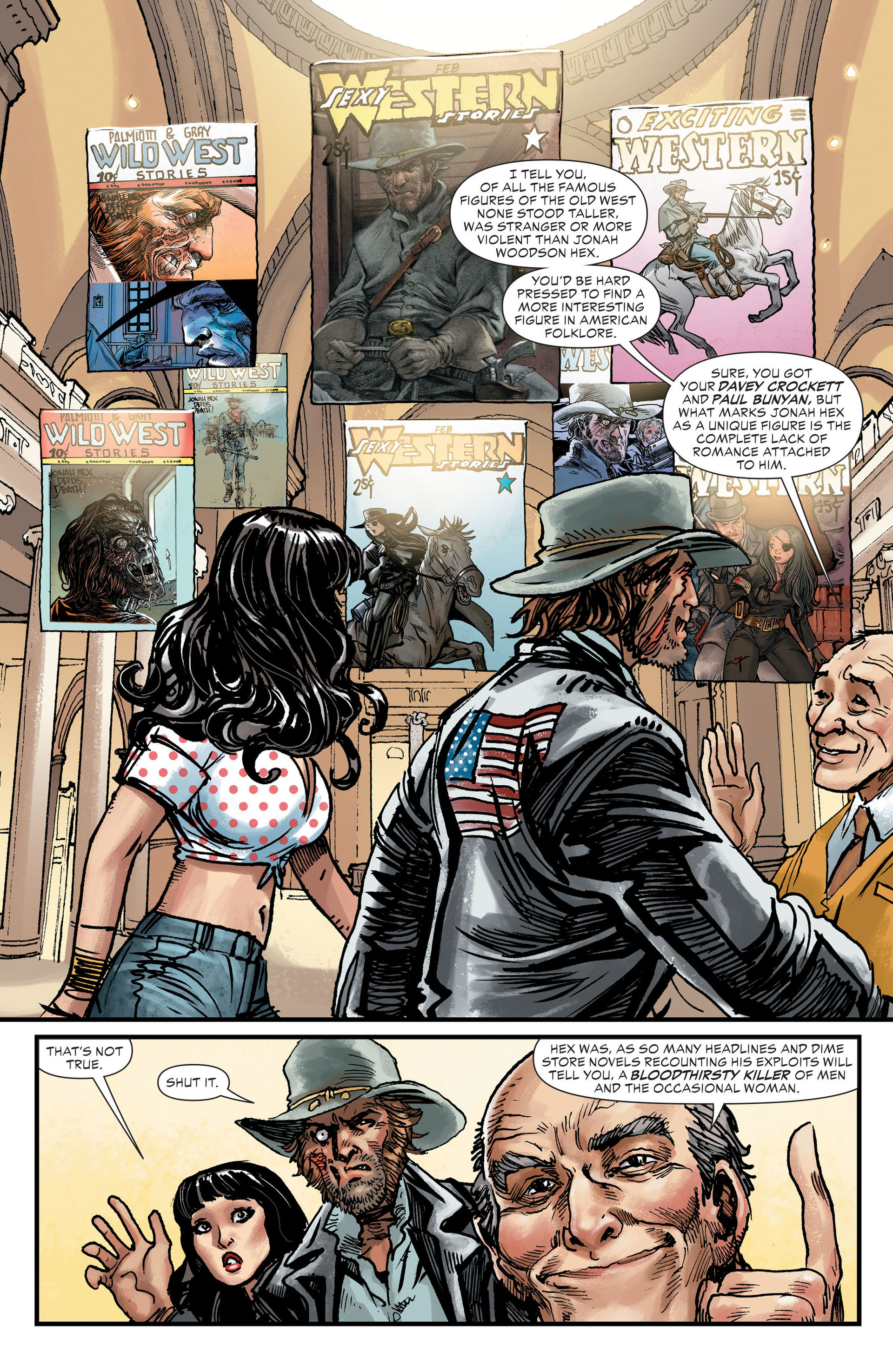 Read online All-Star Western (2011) comic -  Issue #27 - 14