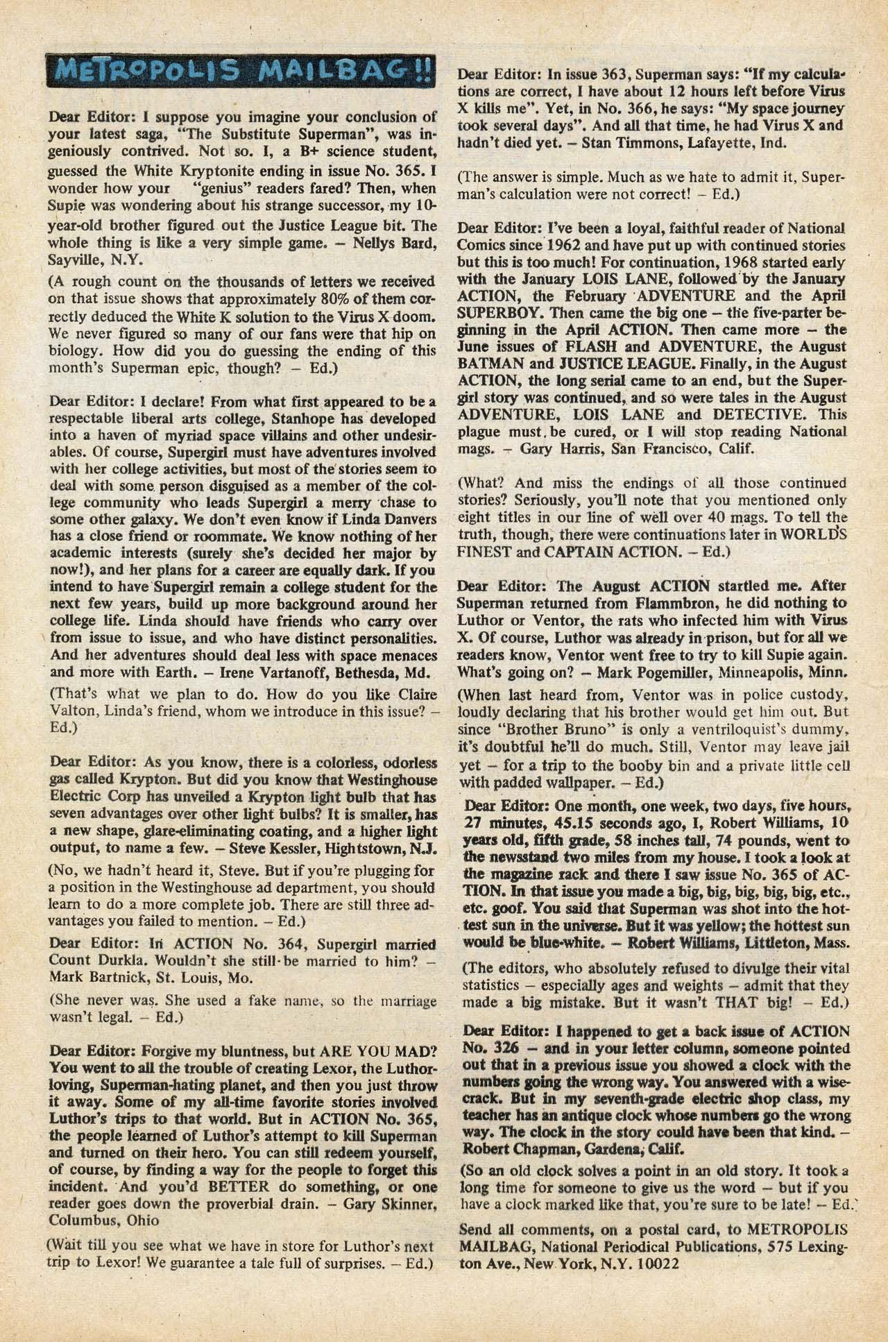 Read online Action Comics (1938) comic -  Issue #369 - 32