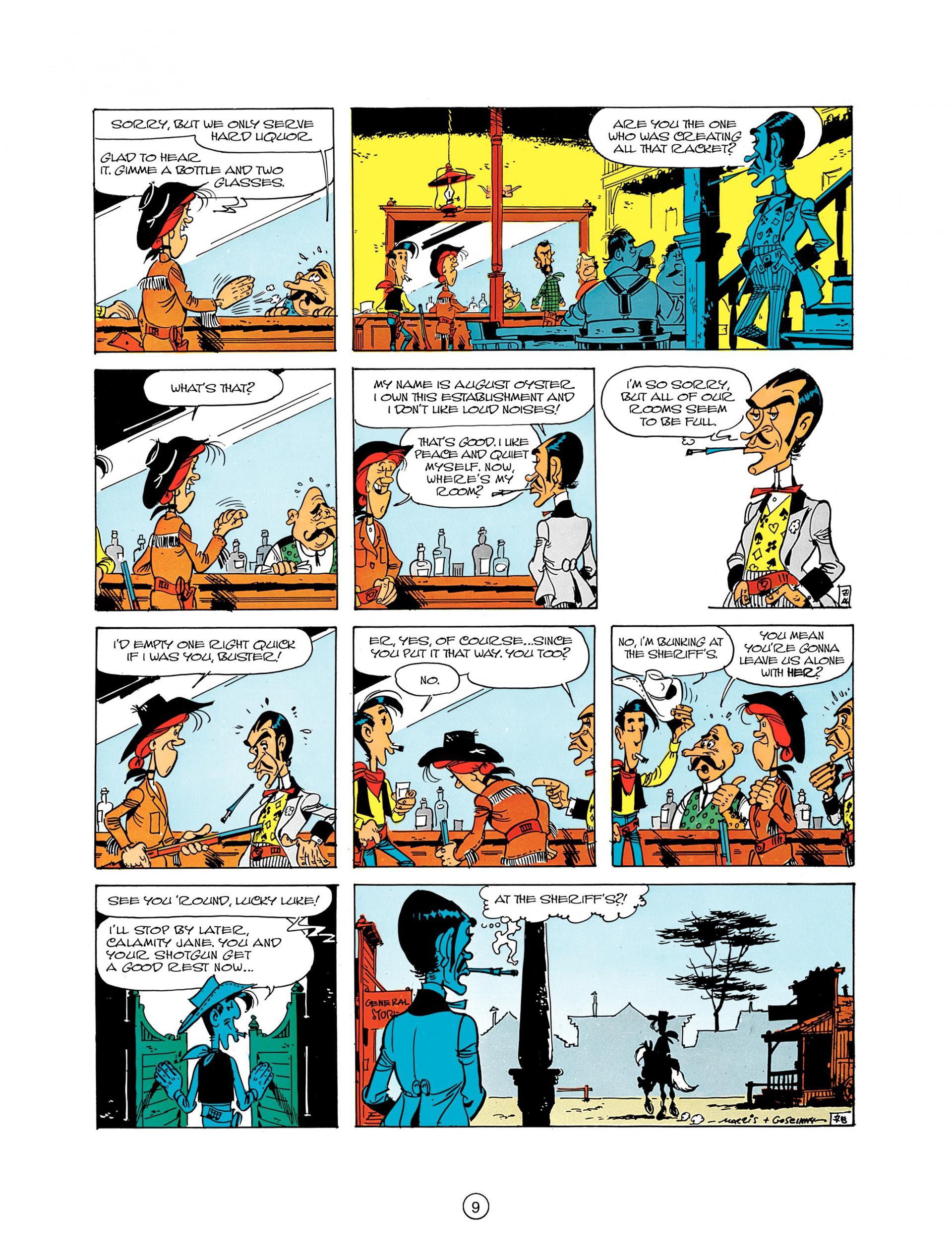 Read online A Lucky Luke Adventure comic -  Issue #8 - 9