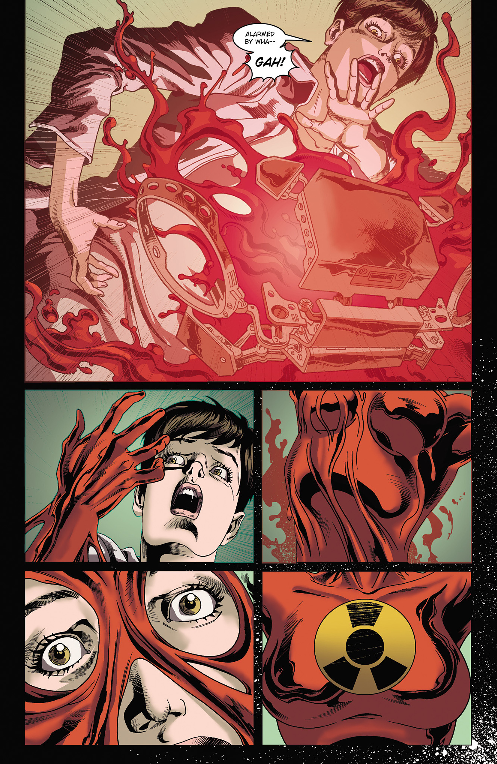 Read online Solar: Man of the Atom (2014) comic -  Issue #3 - 10