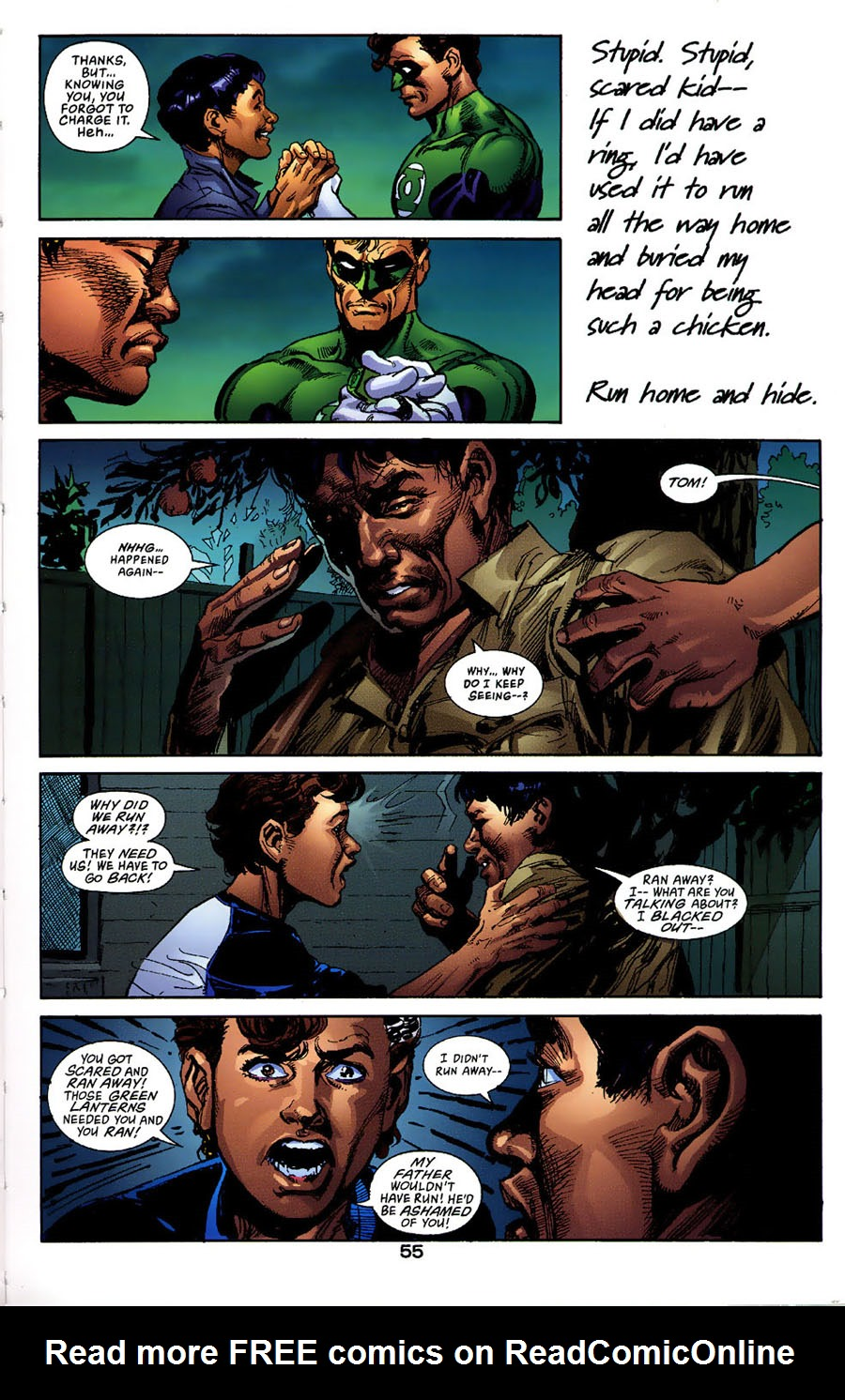 Read online Green Lantern: Legacy: The Last Will and Testament of Hal Jordan comic -  Issue # TPB - 60