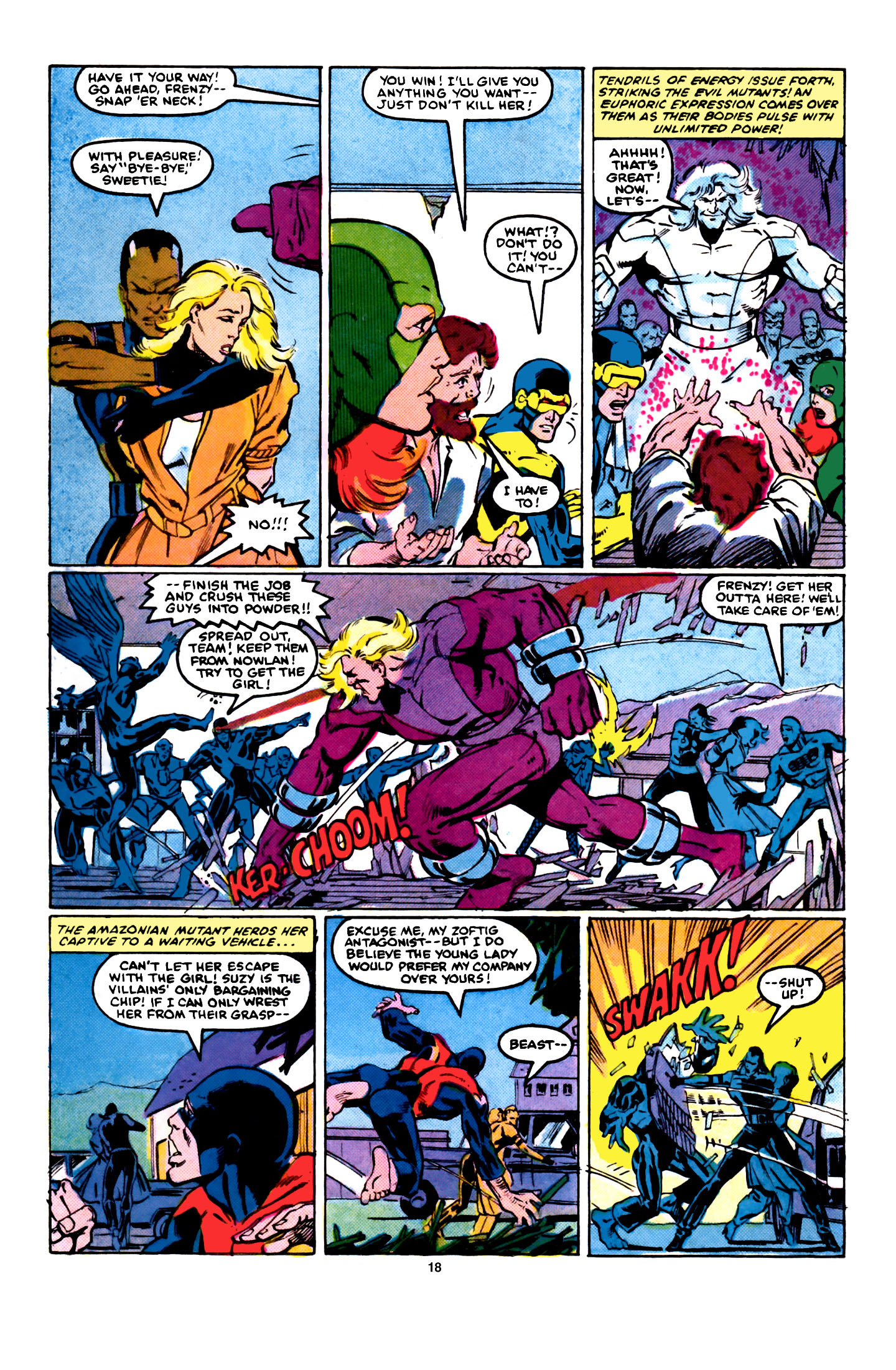 Read online X-Factor (1986) comic -  Issue #5 - 19