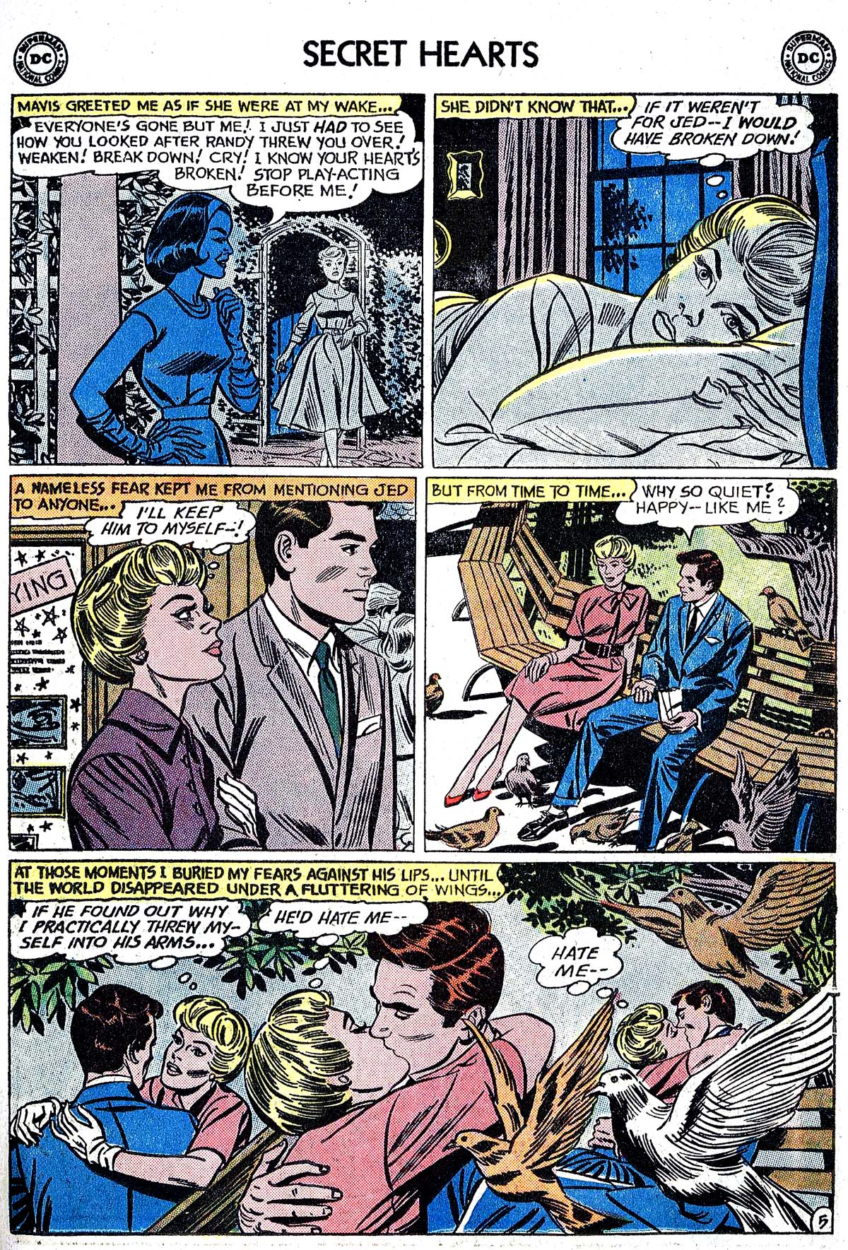 Read online Secret Hearts comic -  Issue #82 - 31