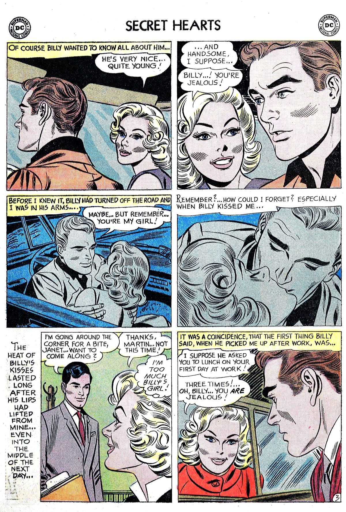Read online Secret Hearts comic -  Issue #82 - 12