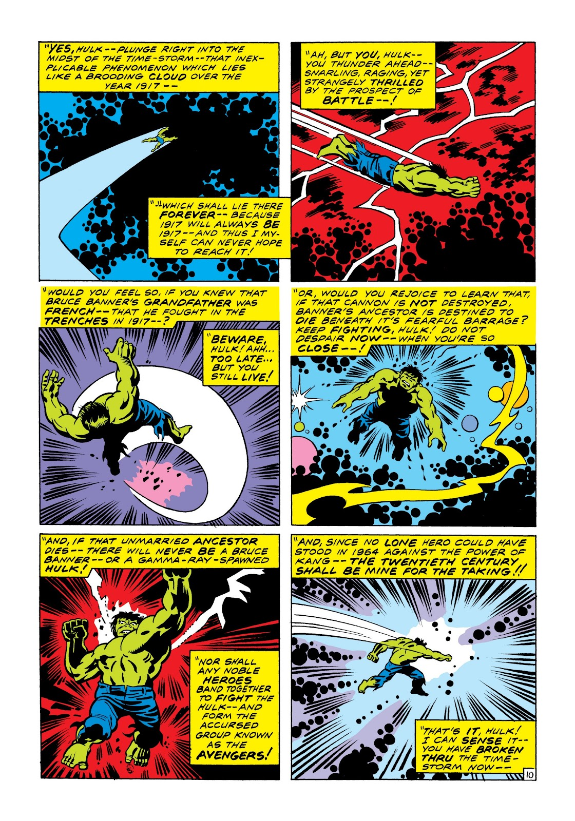 Read online Marvel Masterworks: The Incredible Hulk comic -  Issue # TPB 7 (Part 1) - 17