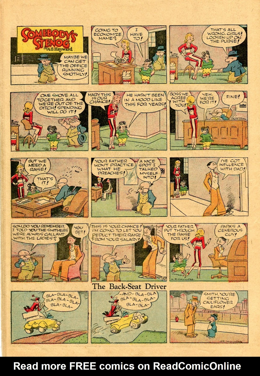Read online Famous Funnies comic -  Issue #56 - 48