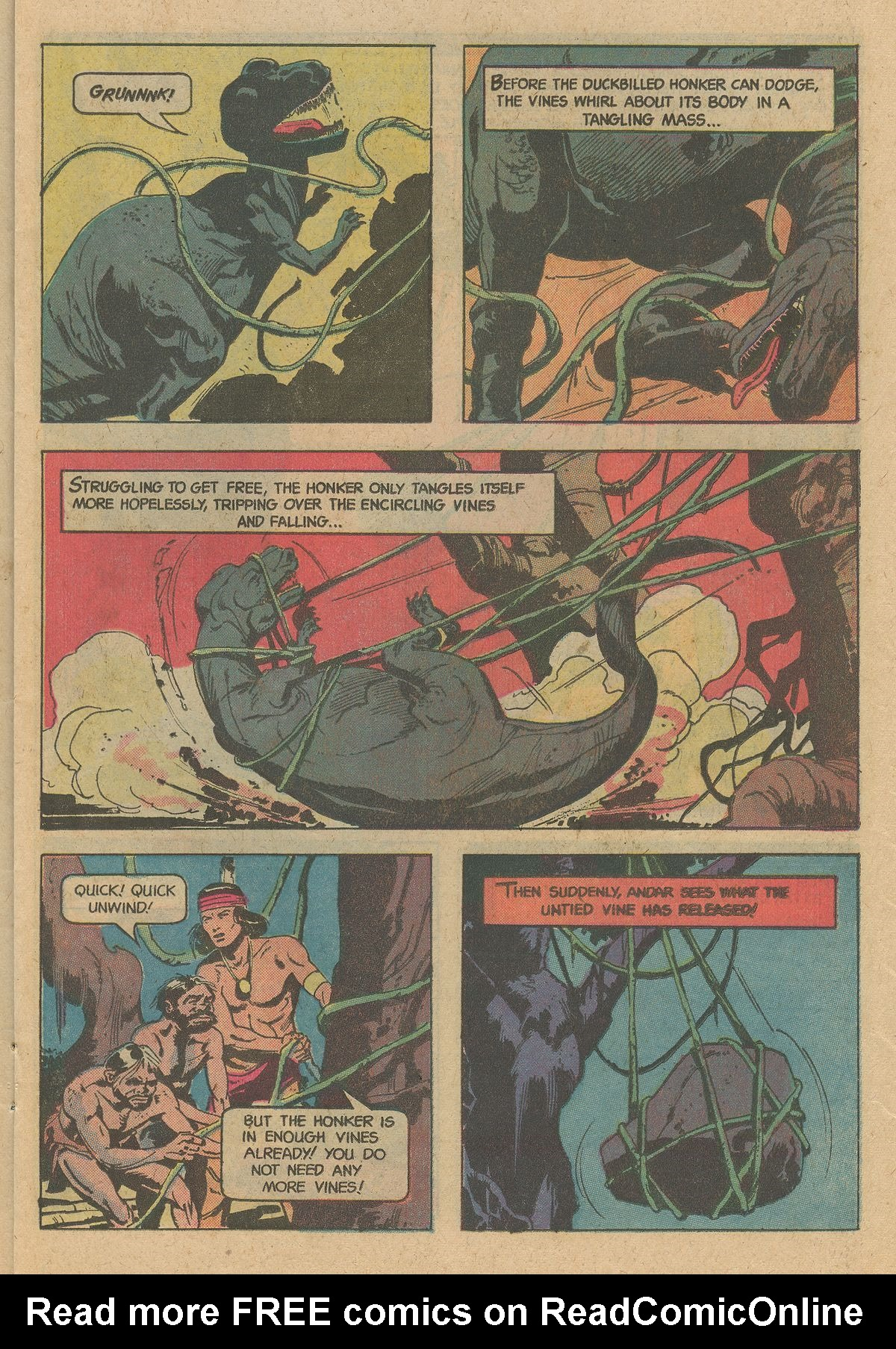 Read online Turok, Son of Stone comic -  Issue #128 - 15