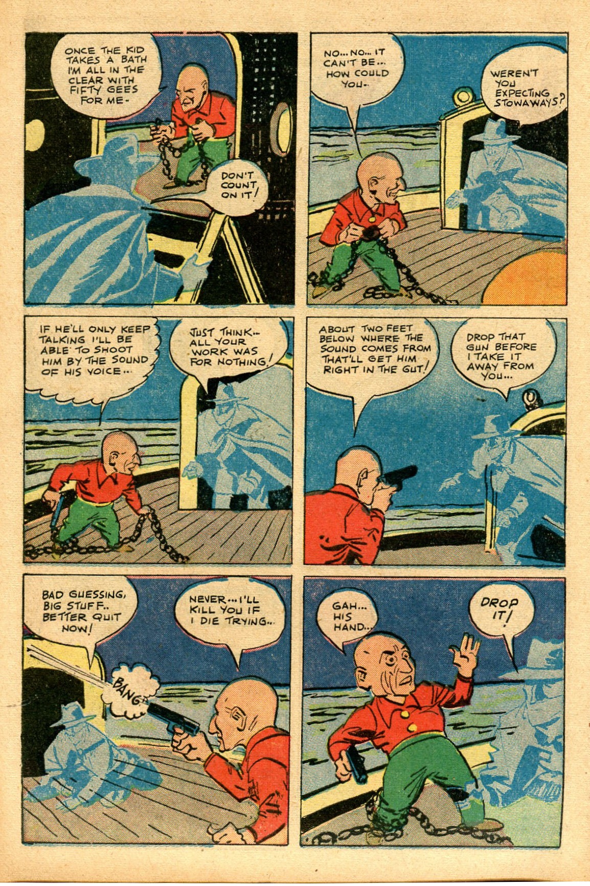 Read online Shadow Comics comic -  Issue #69 - 14