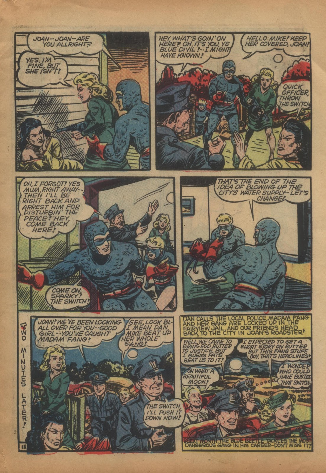 The Blue Beetle issue 15 - Page 17