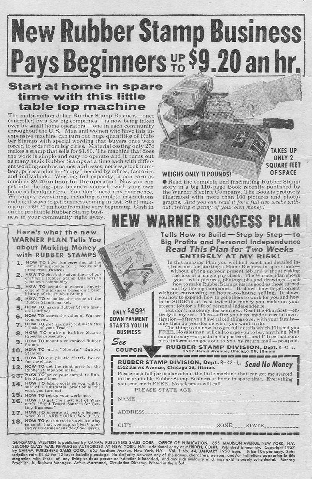 Gunsmoke Western issue 44 - Page 2