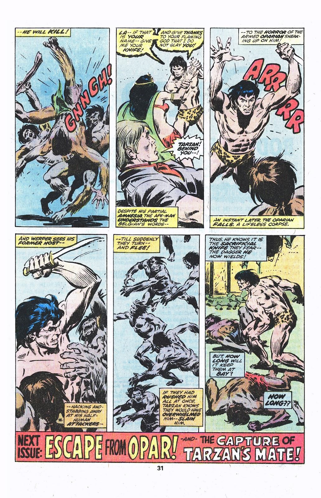 Tarzan (1977) issue 3 - Page 17