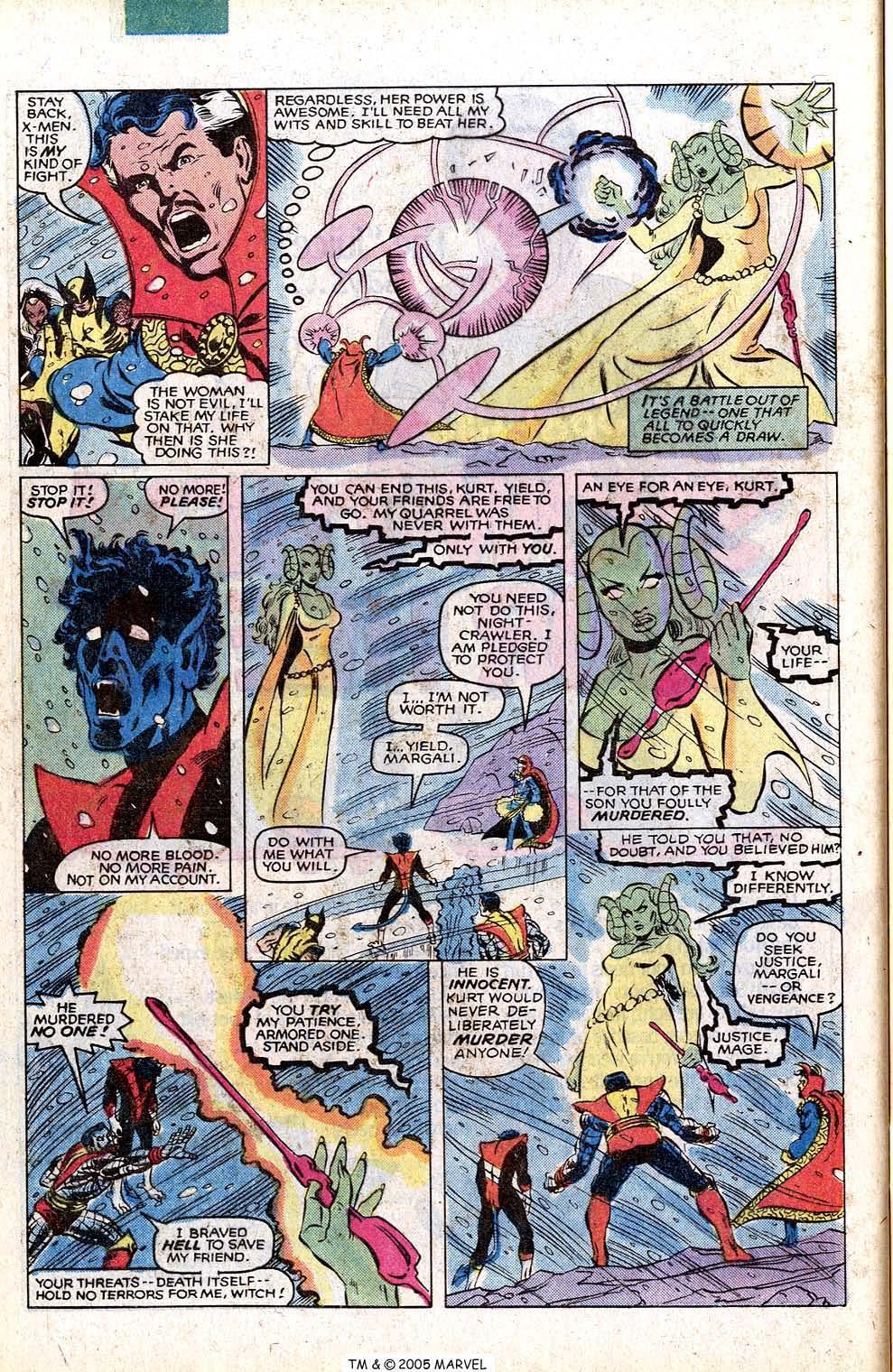Read online Uncanny X-Men (1963) comic -  Issue # _Annual 4 - 44