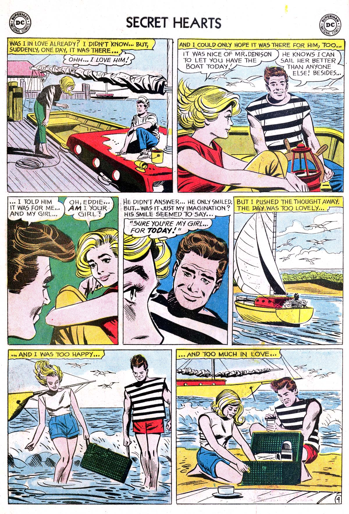 Read online Secret Hearts comic -  Issue #87 - 14