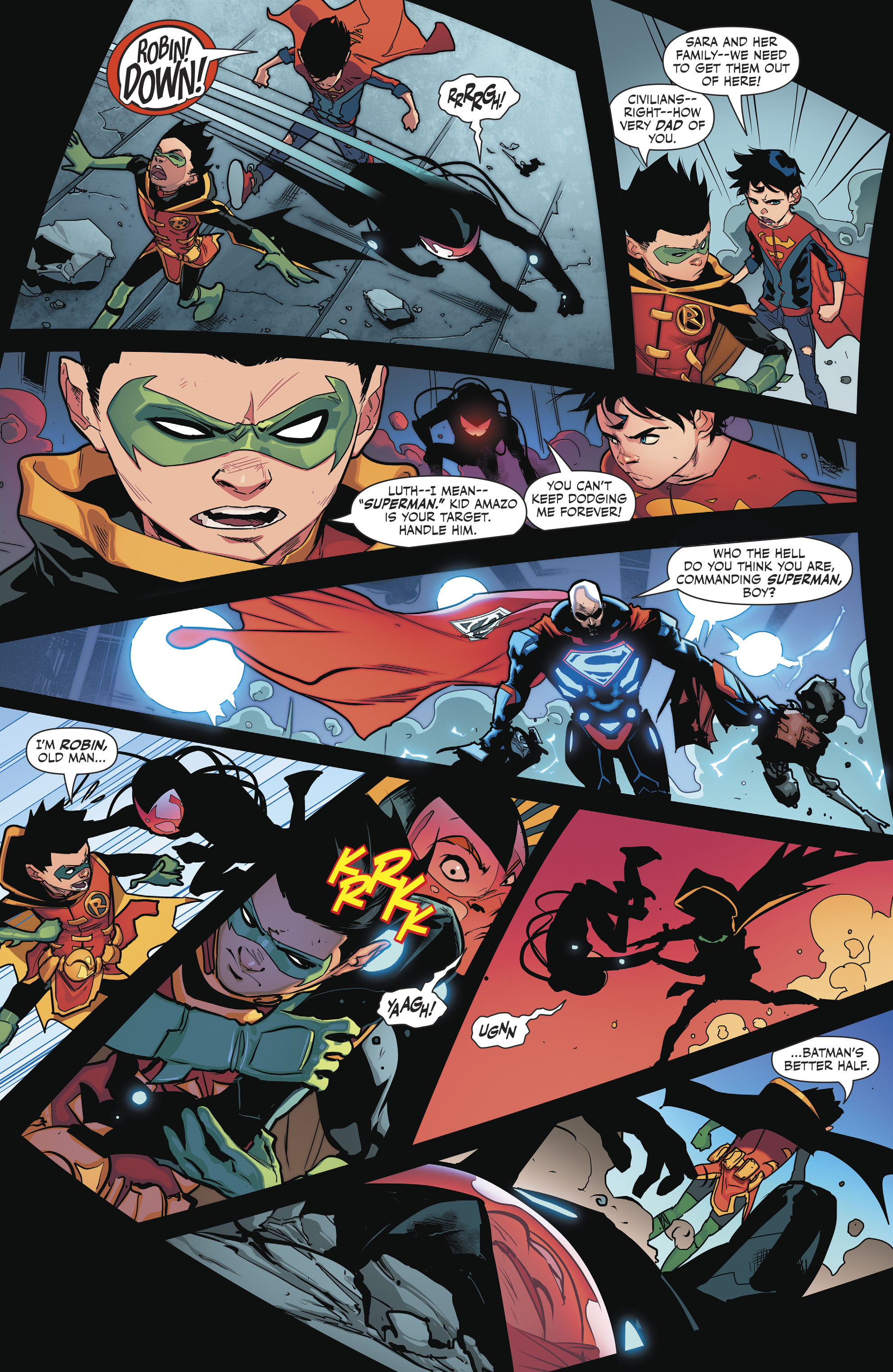 Read online Super Sons comic -  Issue #4 - 12