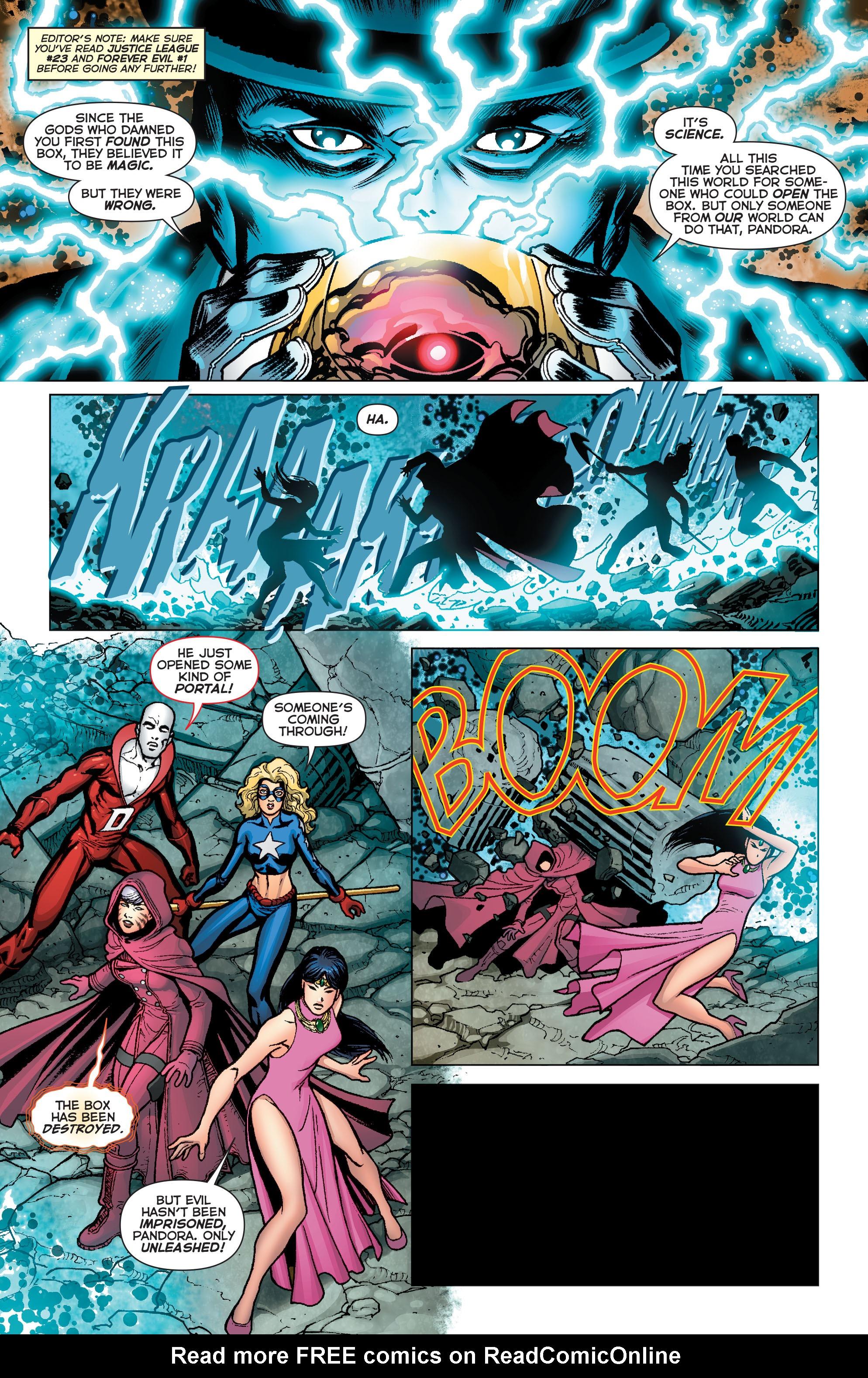 Read online Trinity of Sin: Pandora comic -  Issue #4 - 2