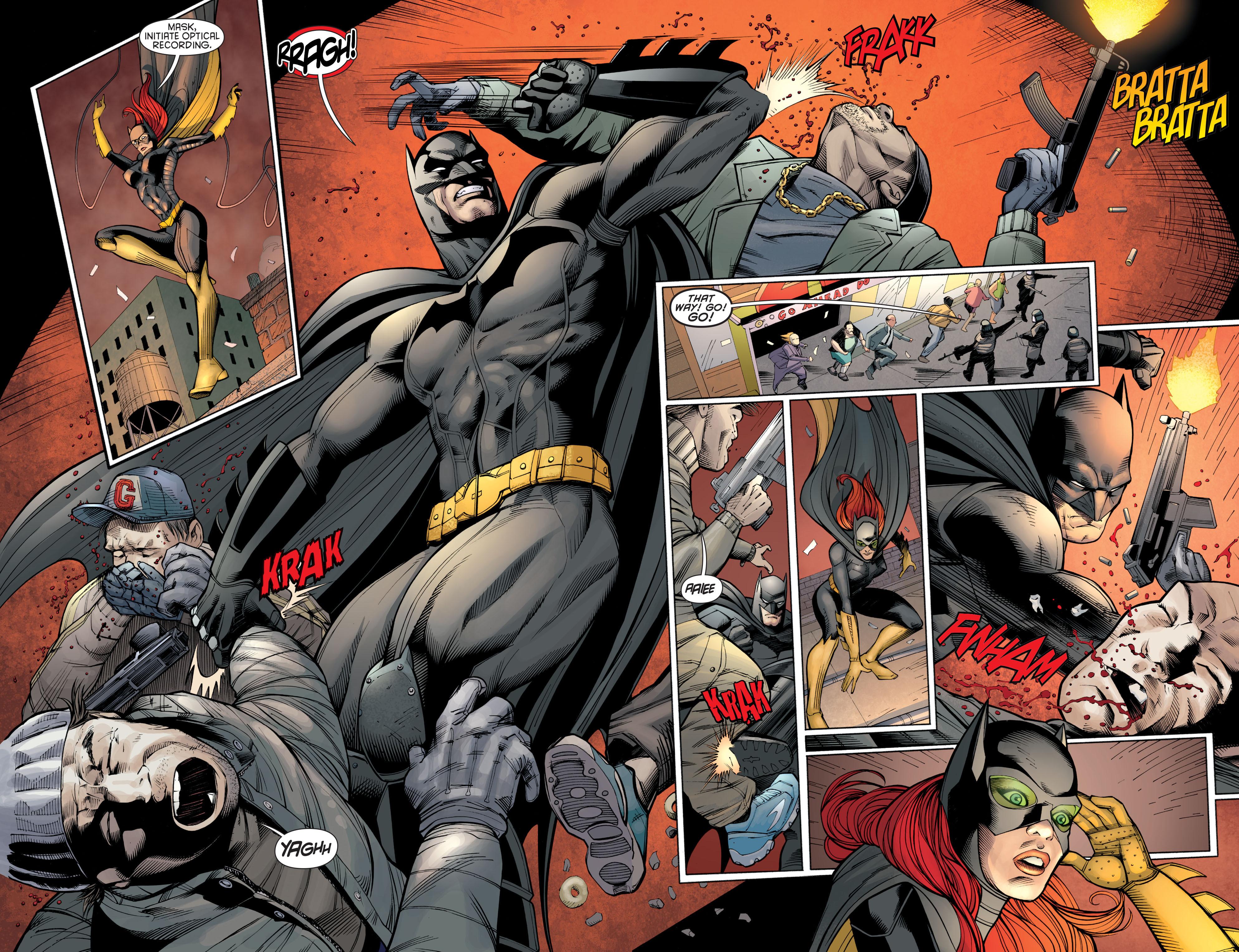 Read online Batman and Robin (2011) comic -  Issue #21 - Batman and Batgirl - 13