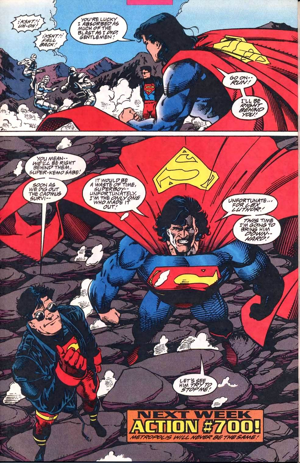Read online Adventures of Superman (1987) comic -  Issue #513 - 23