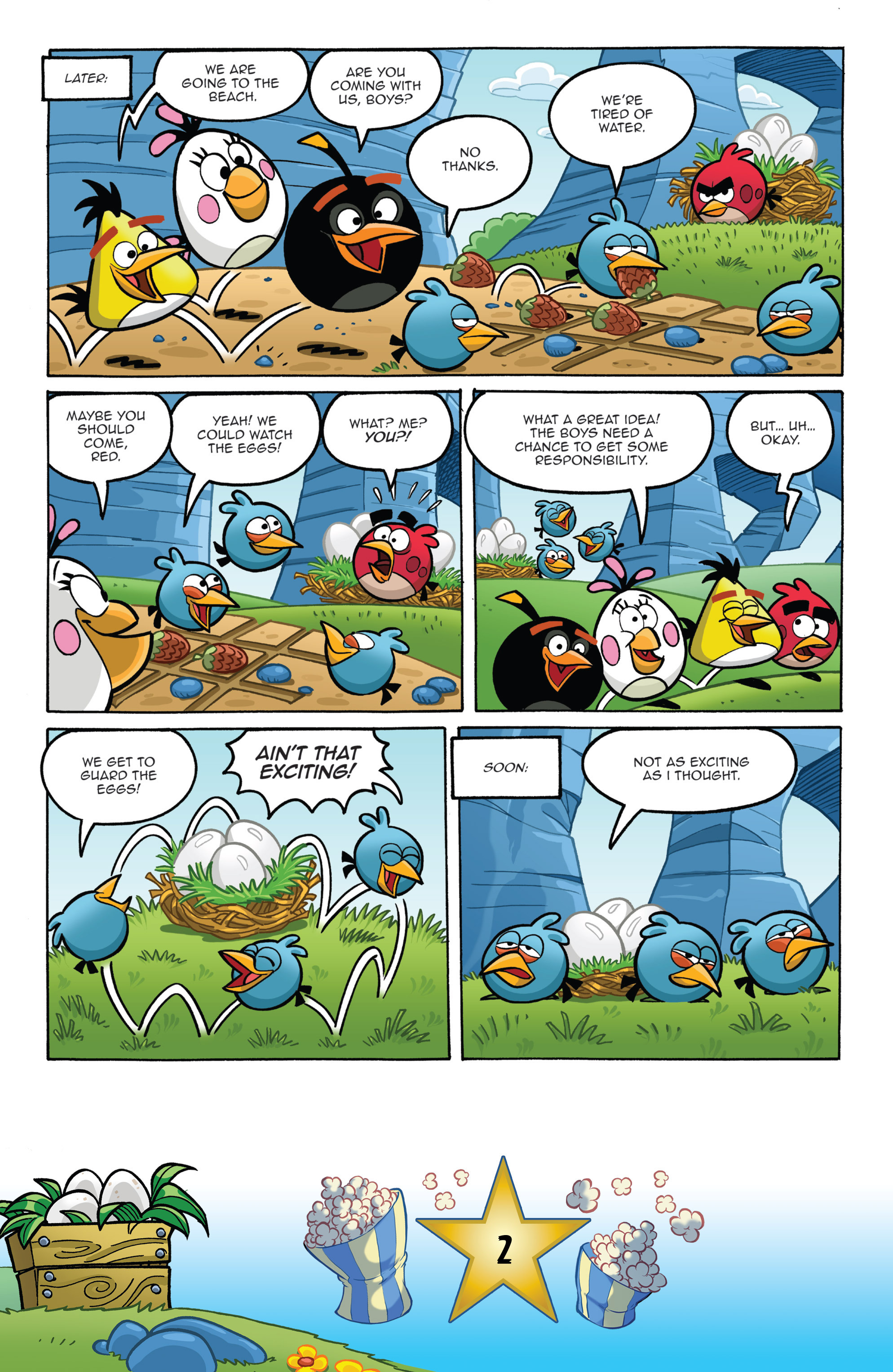 Read online Angry Birds Comics (2016) comic -  Issue #5 - 4