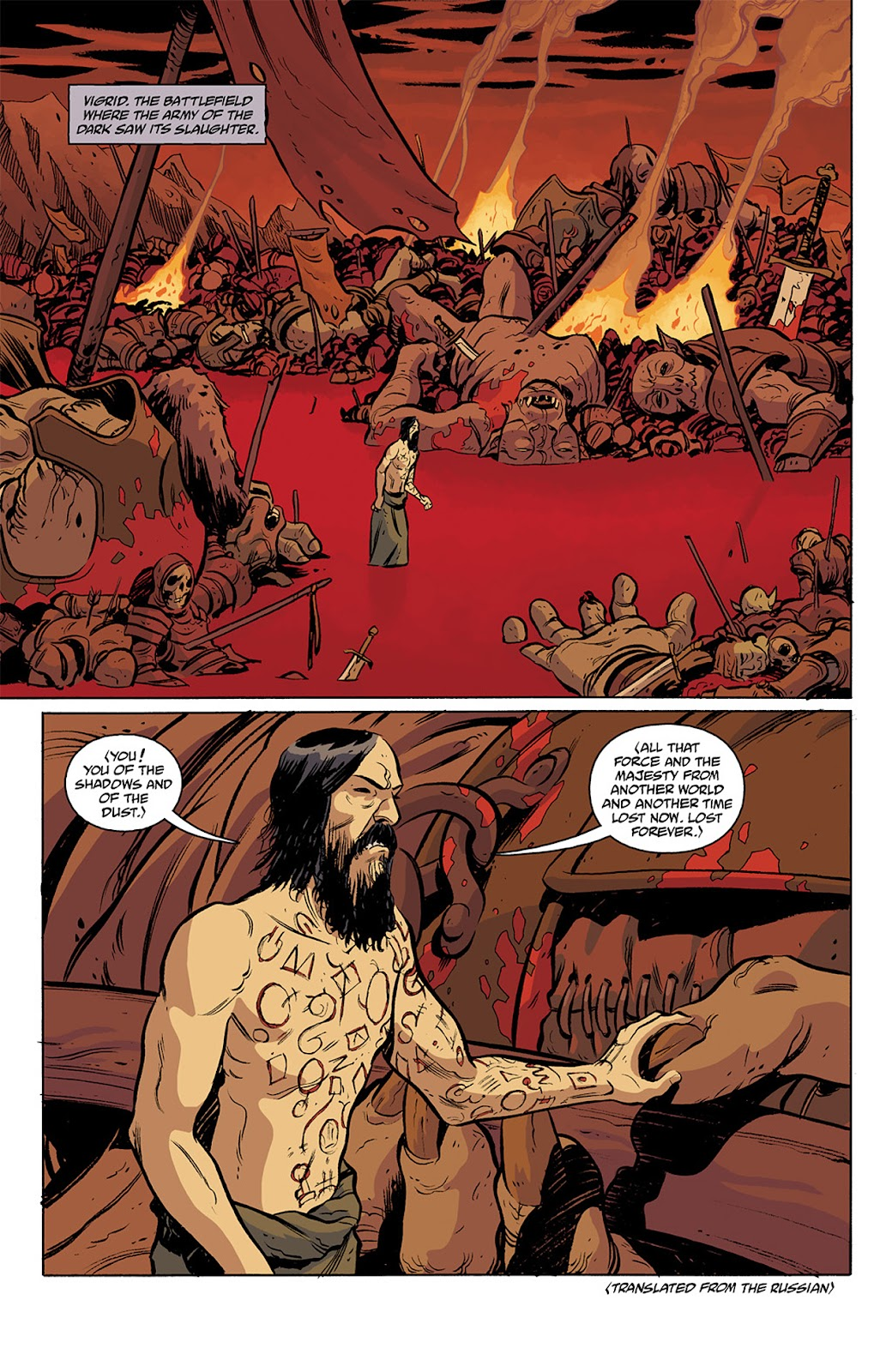 Read online B.P.R.D. Hell on Earth: The Return of the Master comic -  Issue #3 - 16