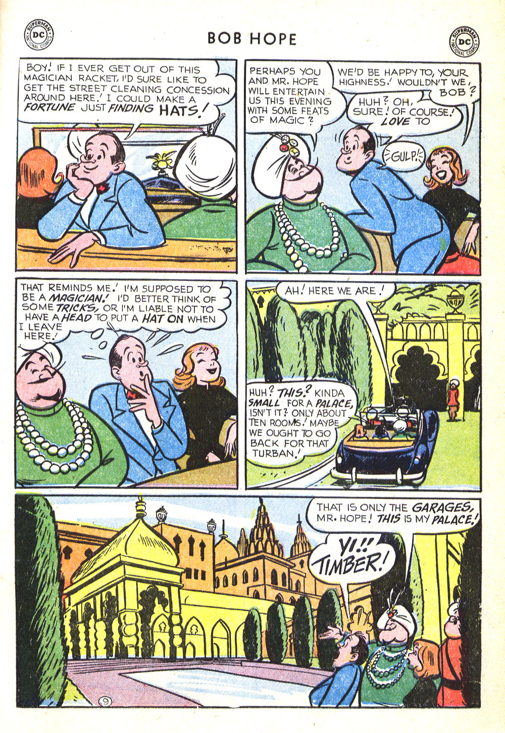The Adventures of Bob Hope issue 30 - Page 11