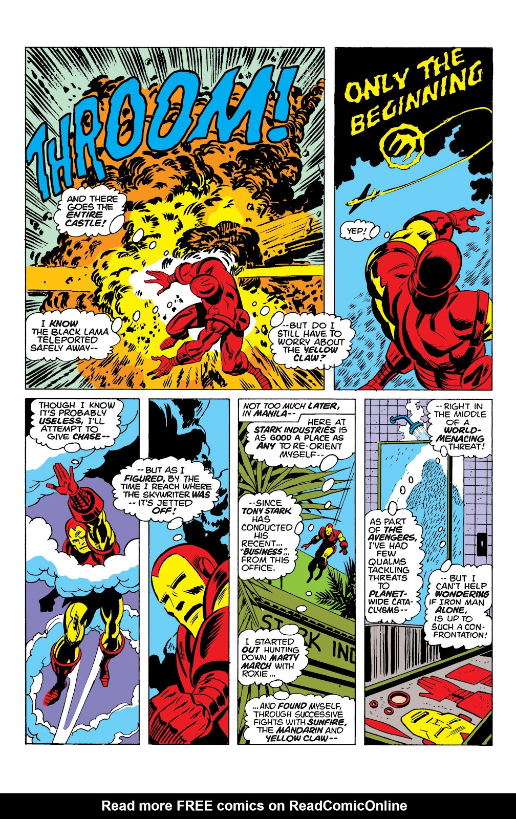 Read online Marvel Masterworks: The Invincible Iron Man comic -  Issue # TPB 10 (Part 1) - 78