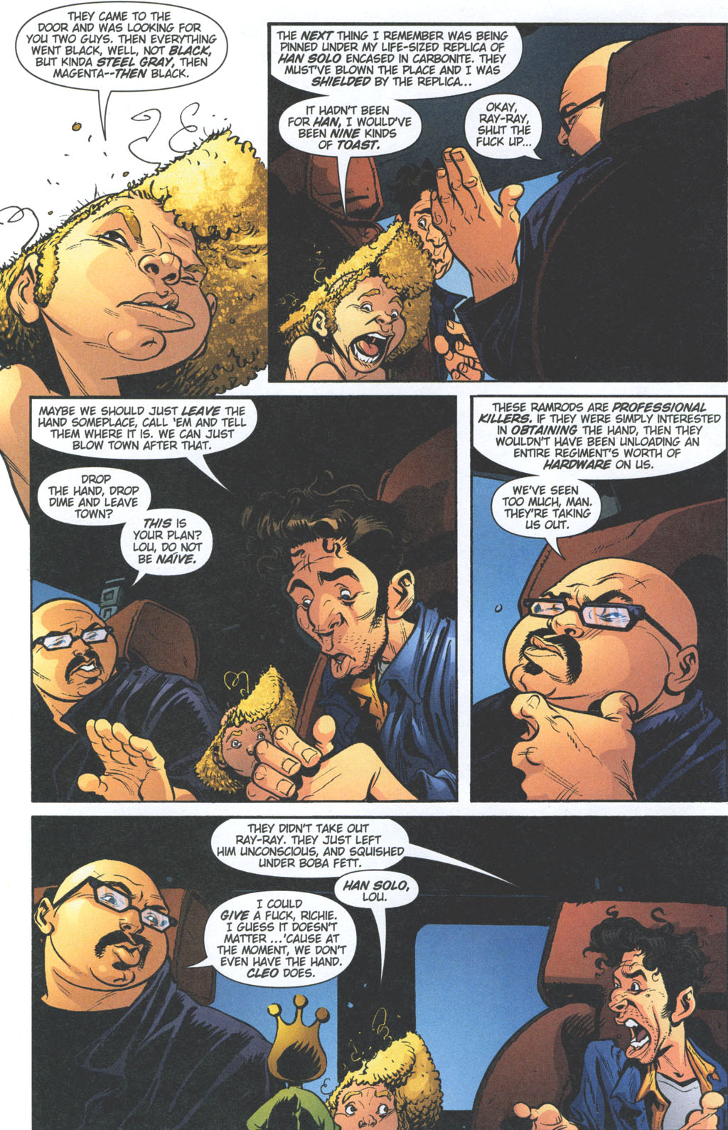 Read online Caper comic -  Issue #11 - 5