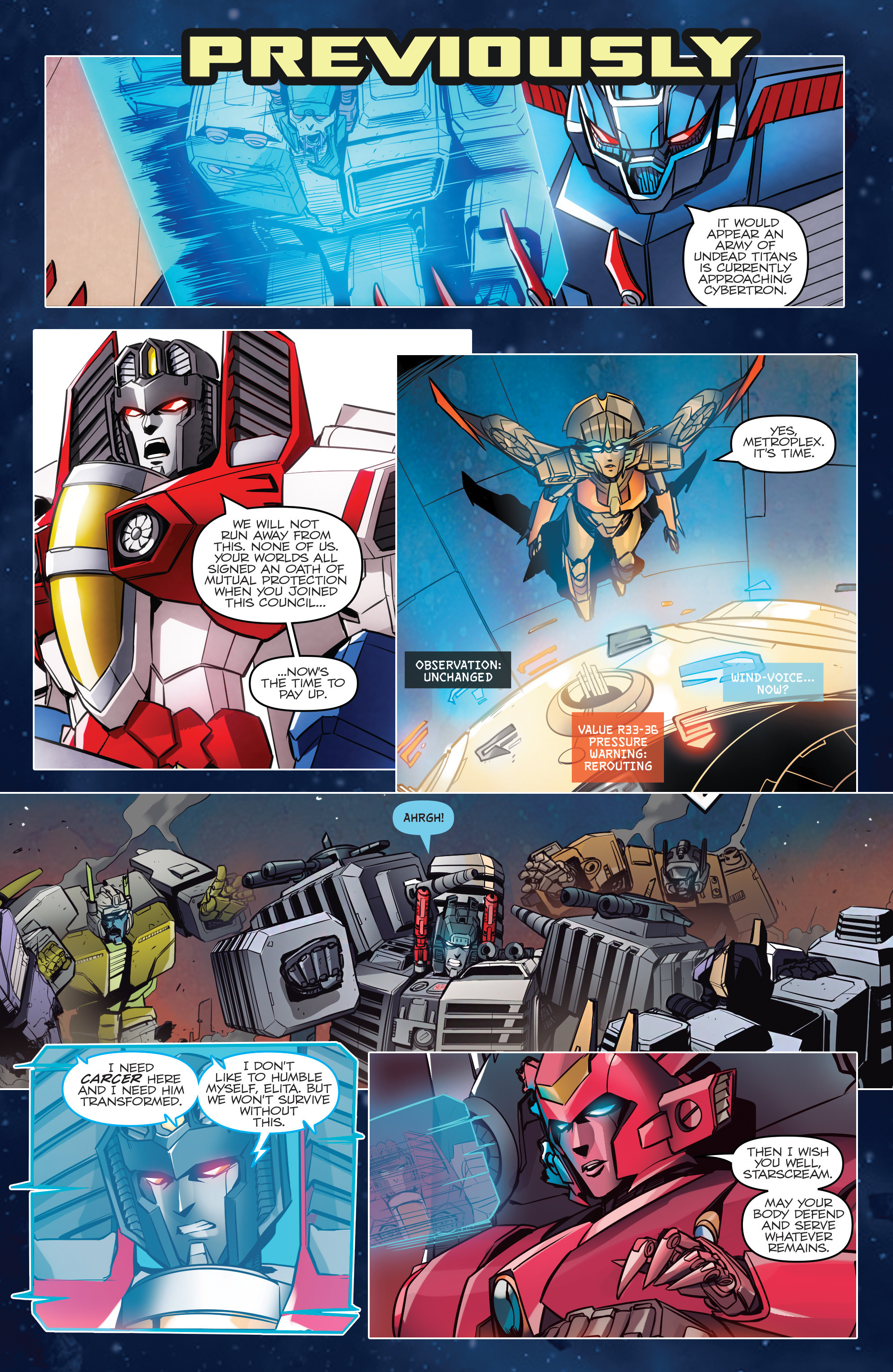 Read online Transformers: Till All Are One comic -  Issue #6 - 3