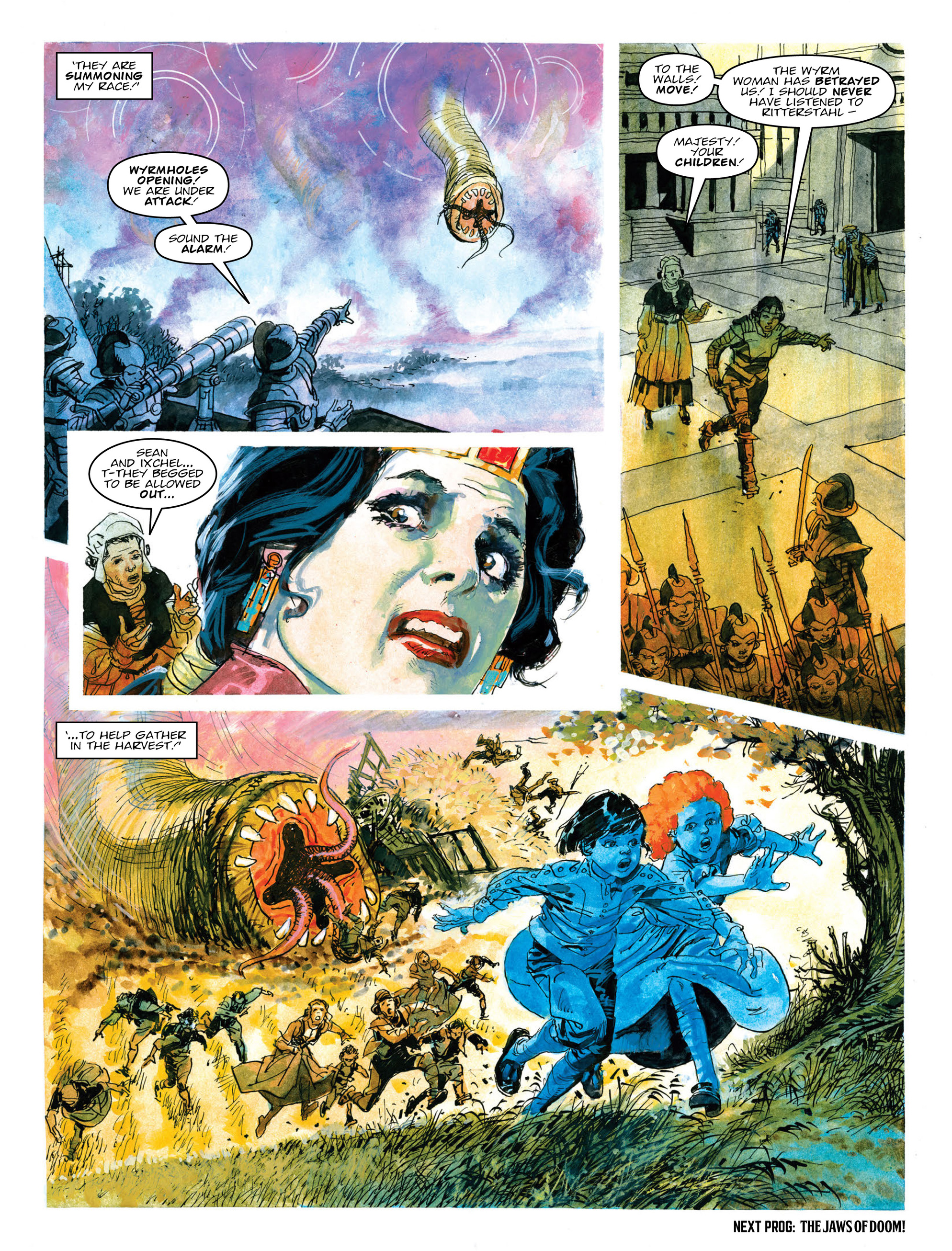 Read online 2000 AD comic -  Issue #2017 - 20
